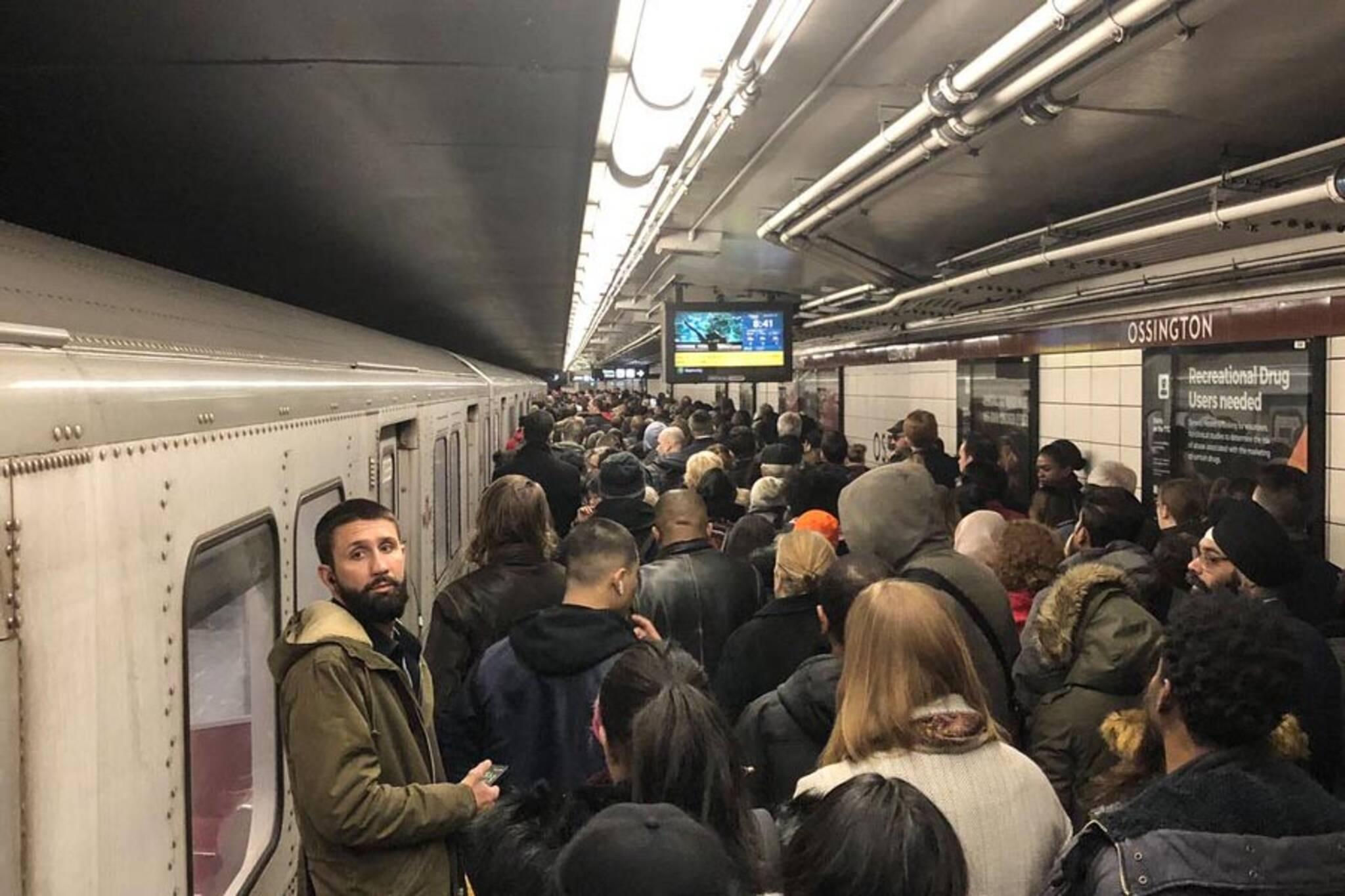 ttc commuter chaos
