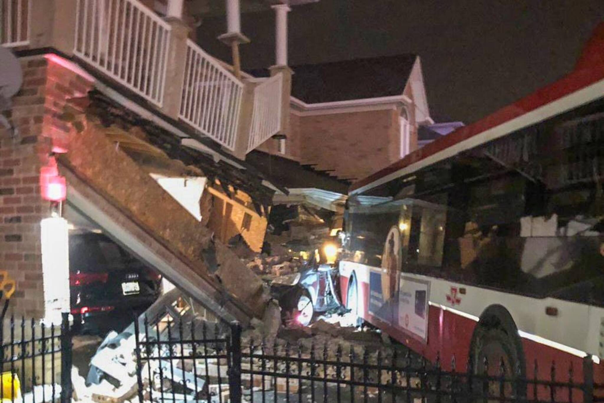 ttc bus crash scarborough