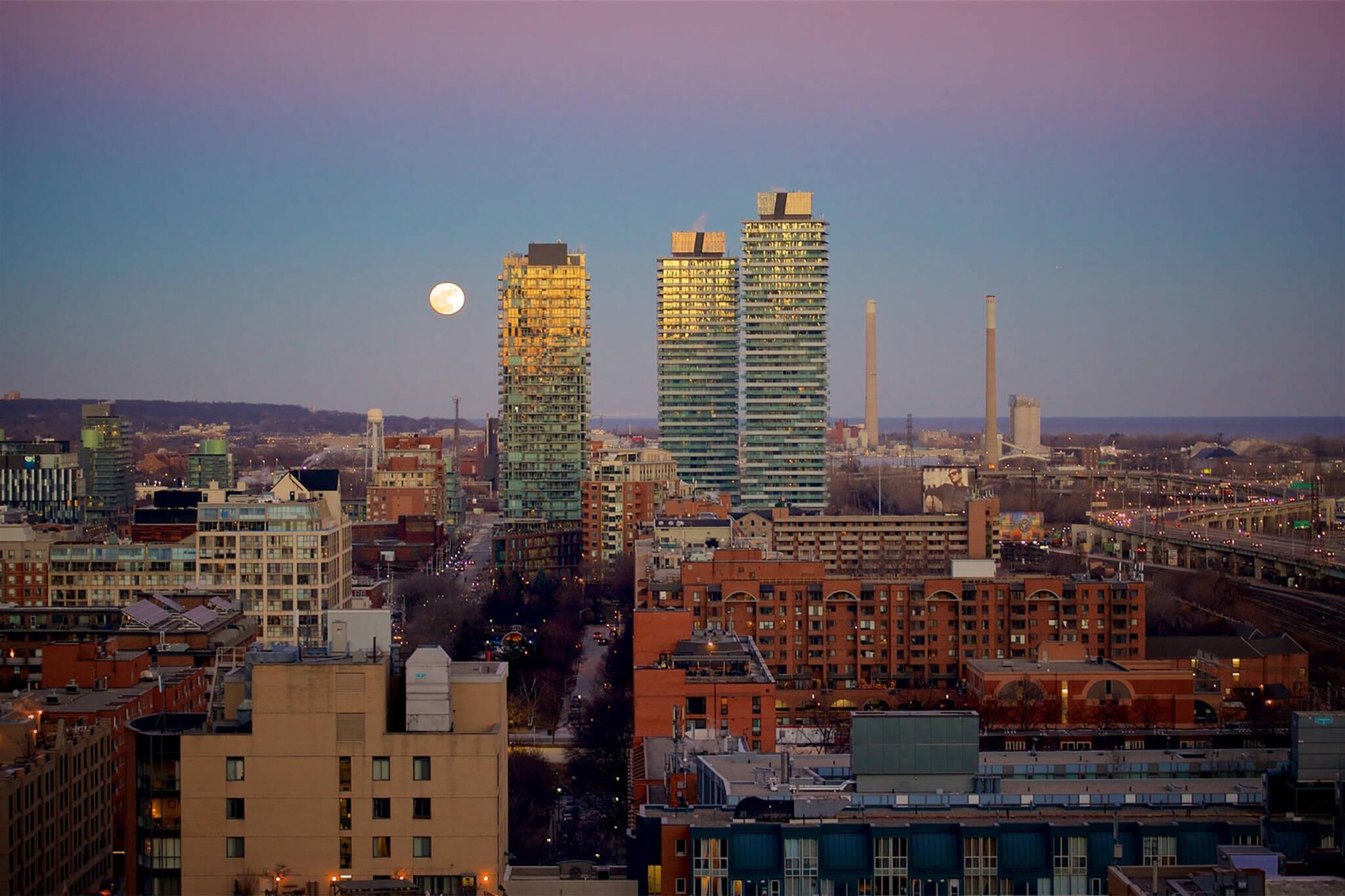 full pink moon toronto