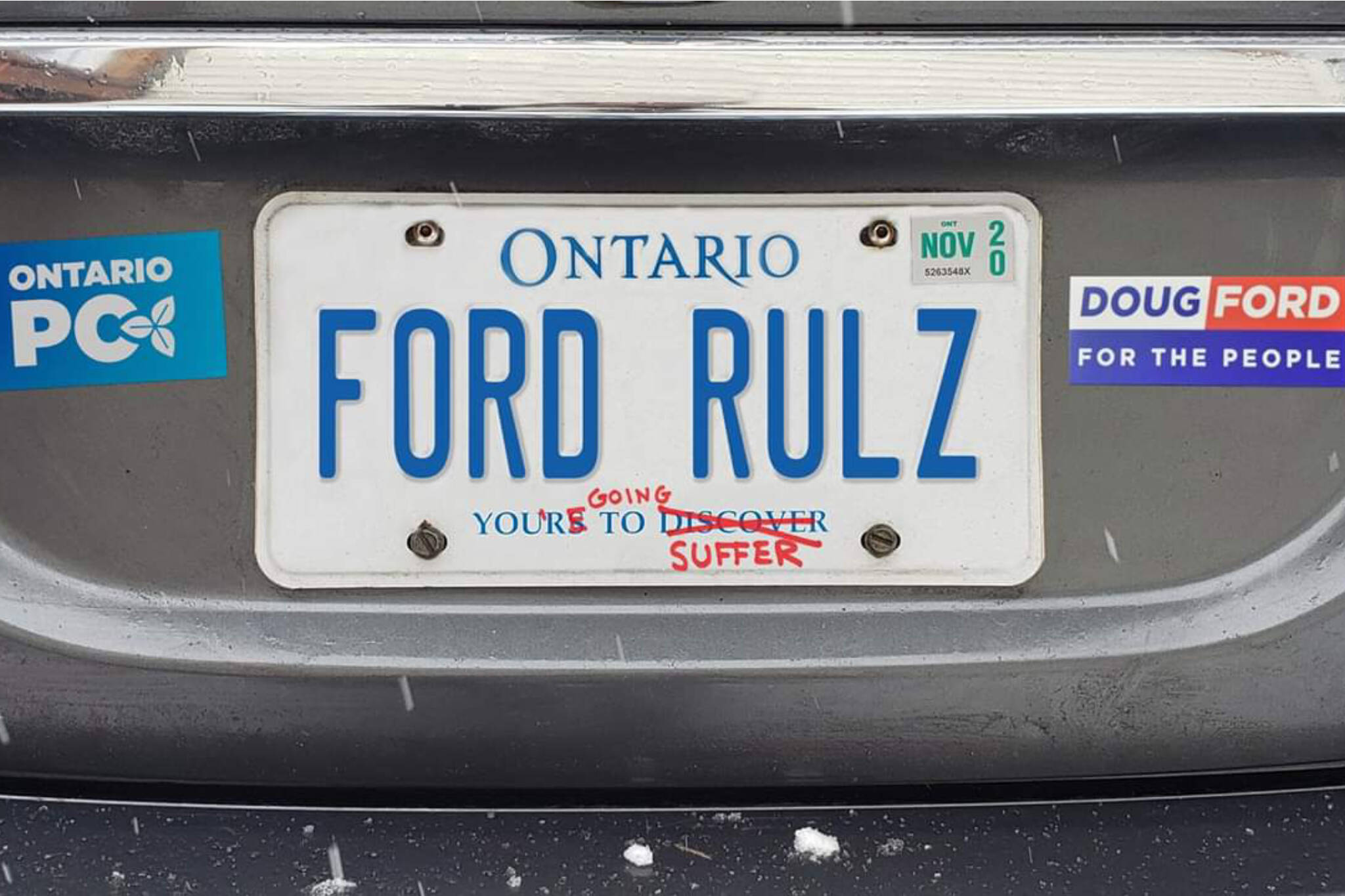 People Are Suggesting Alternate Slogans For Ford S Ontario