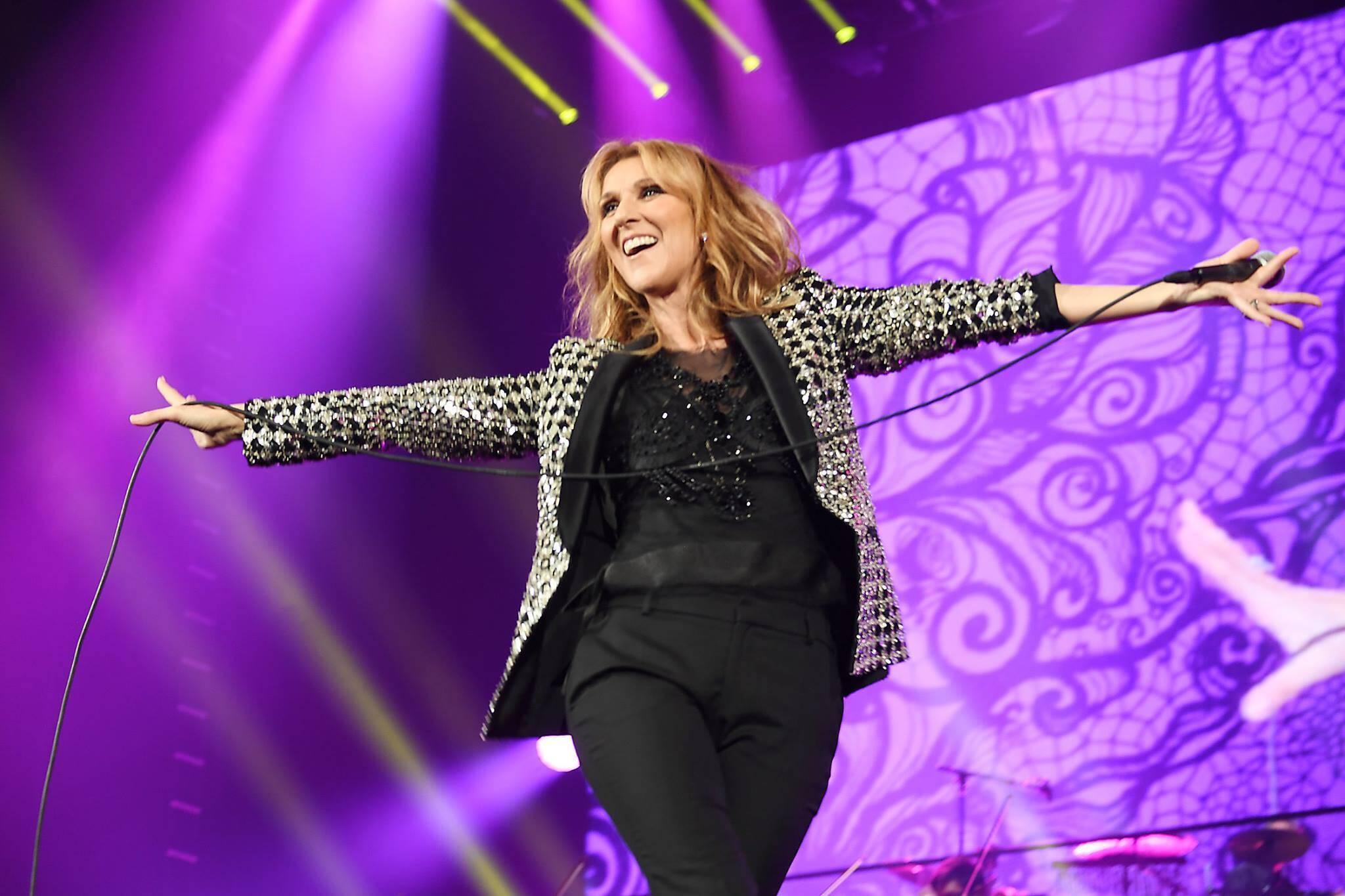 celine Dion toronto concert