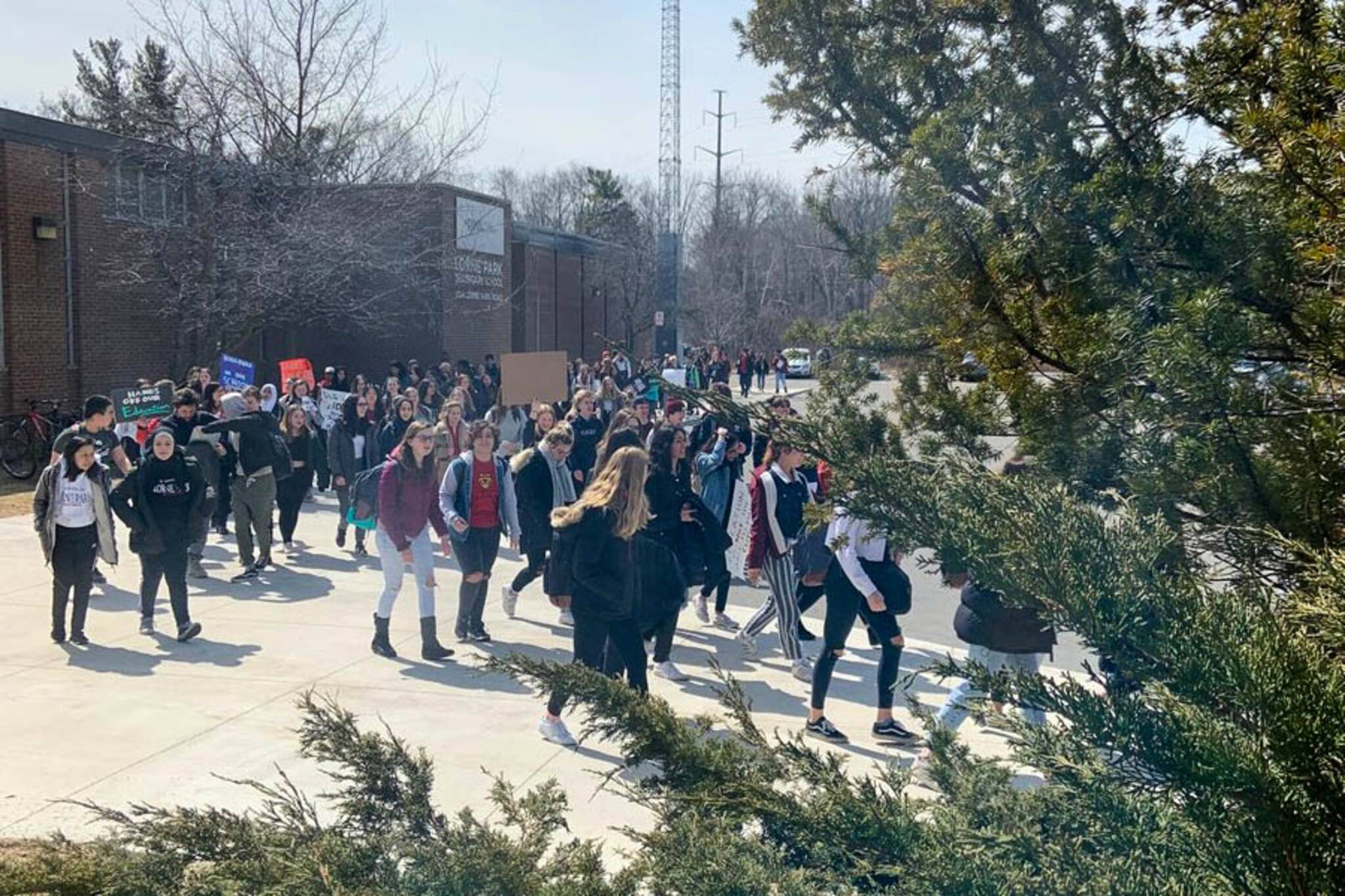 student walkout ontario