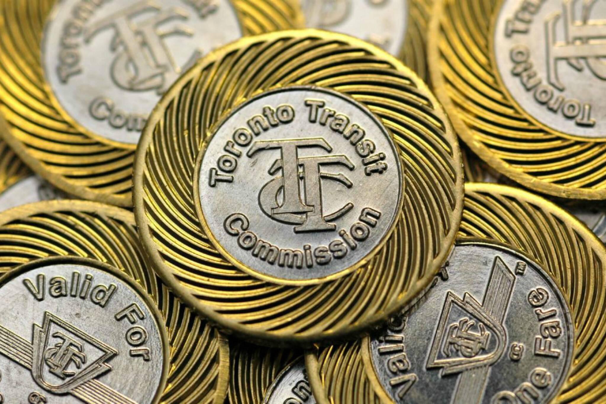 ttc tokens toronto