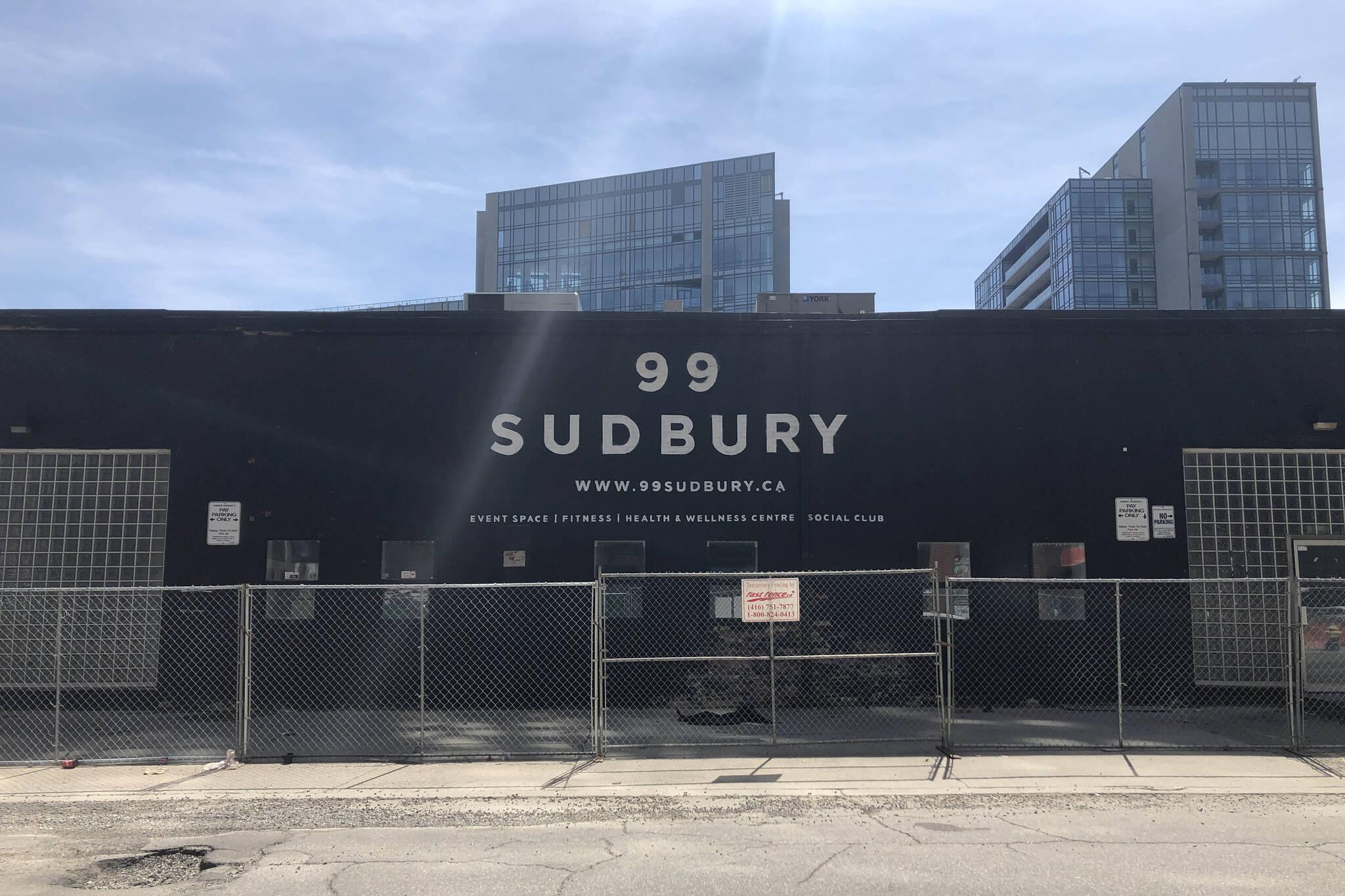 99 sudbury toronto