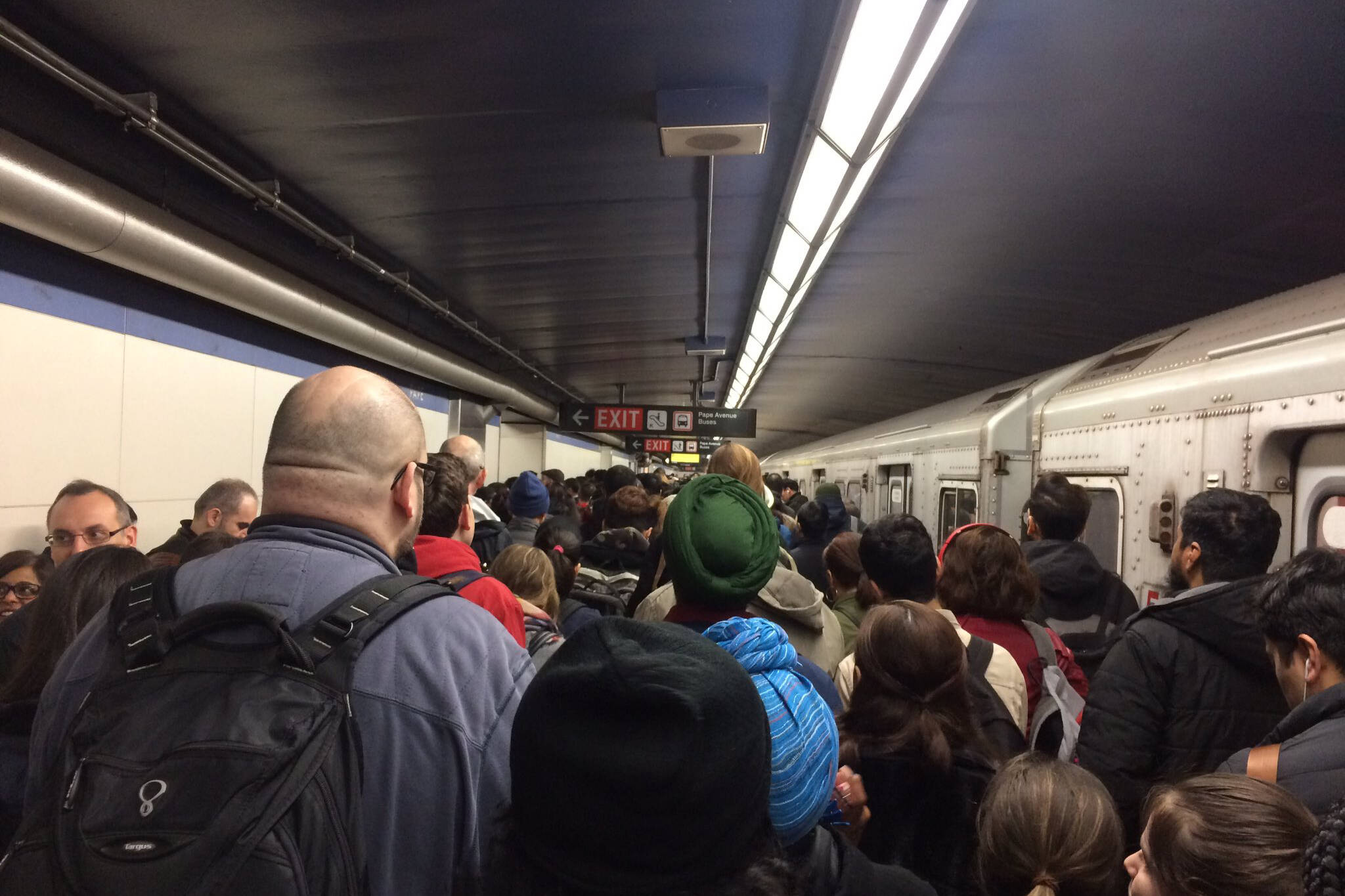 ttc subway delay