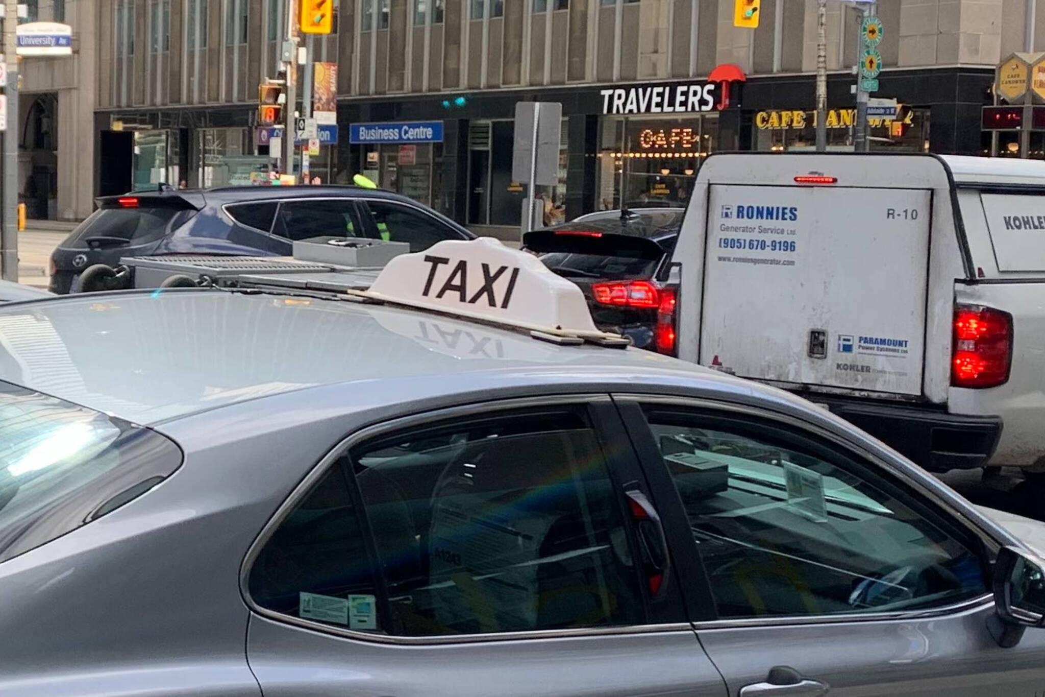 taxi drivers toronto