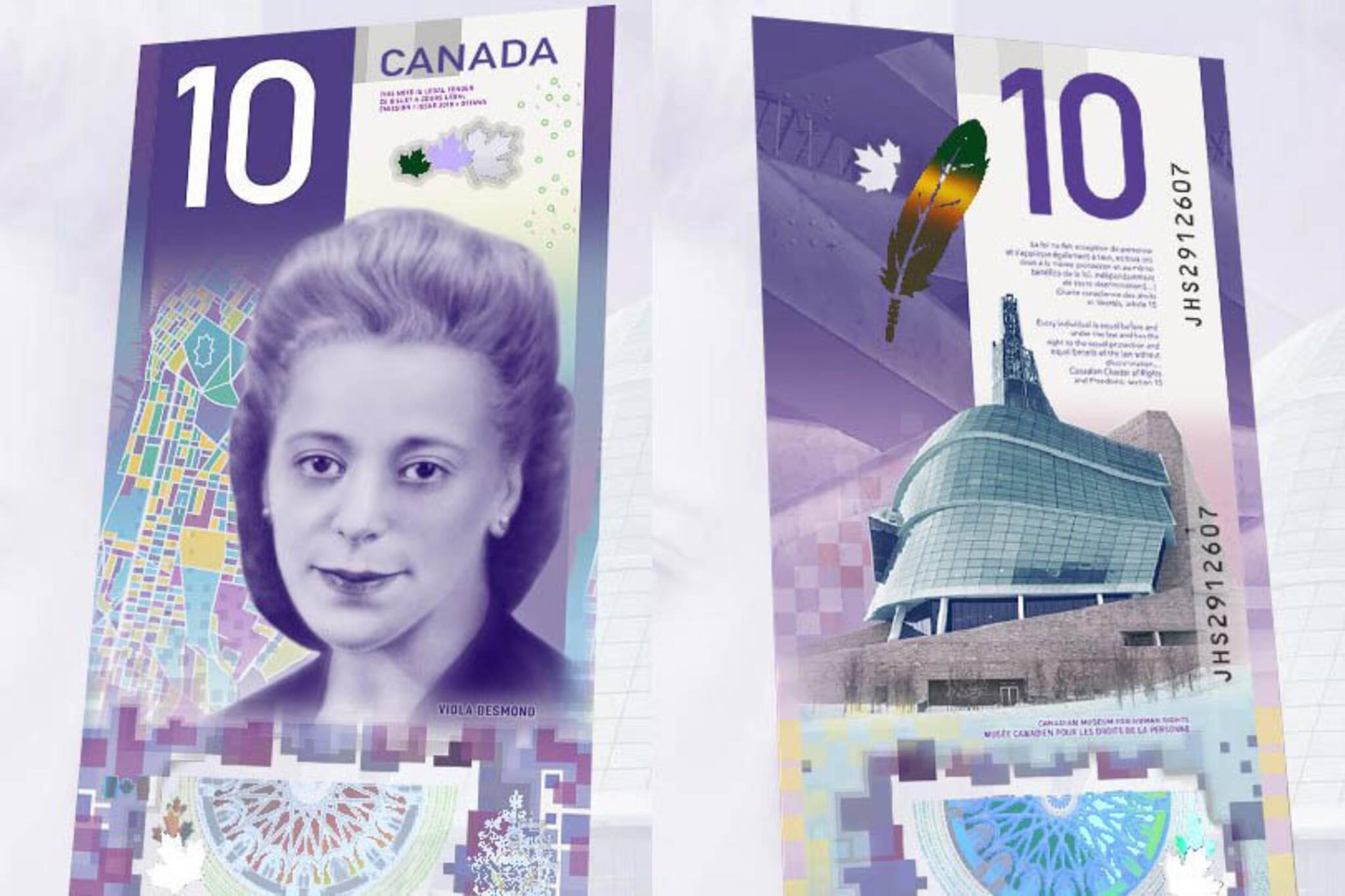 canada $10 bill