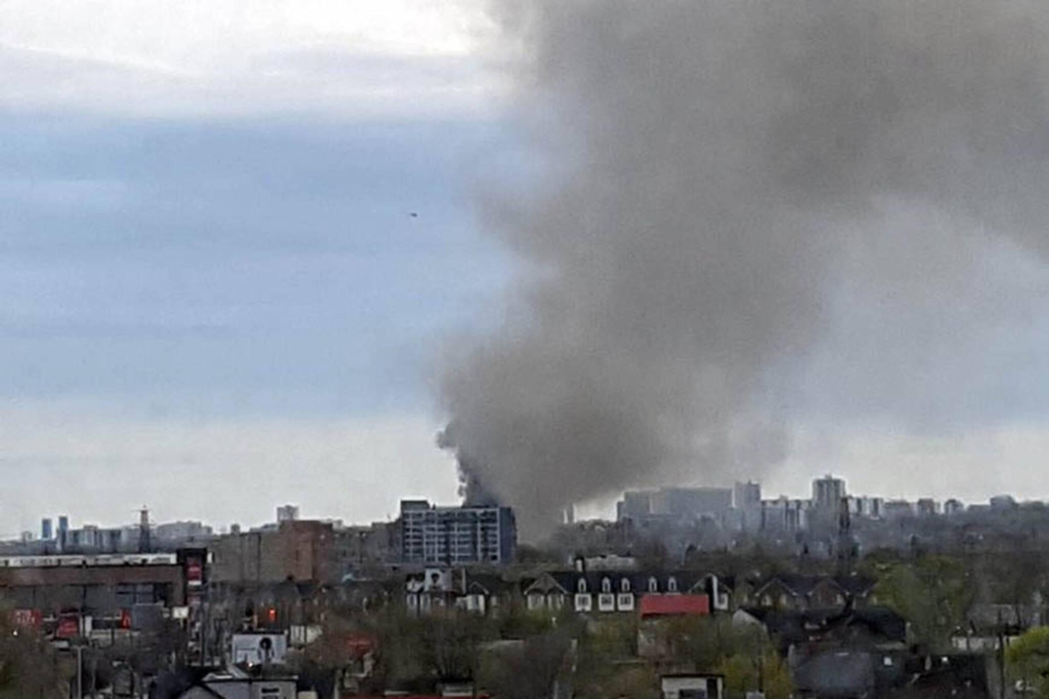 Toronto smoke smell
