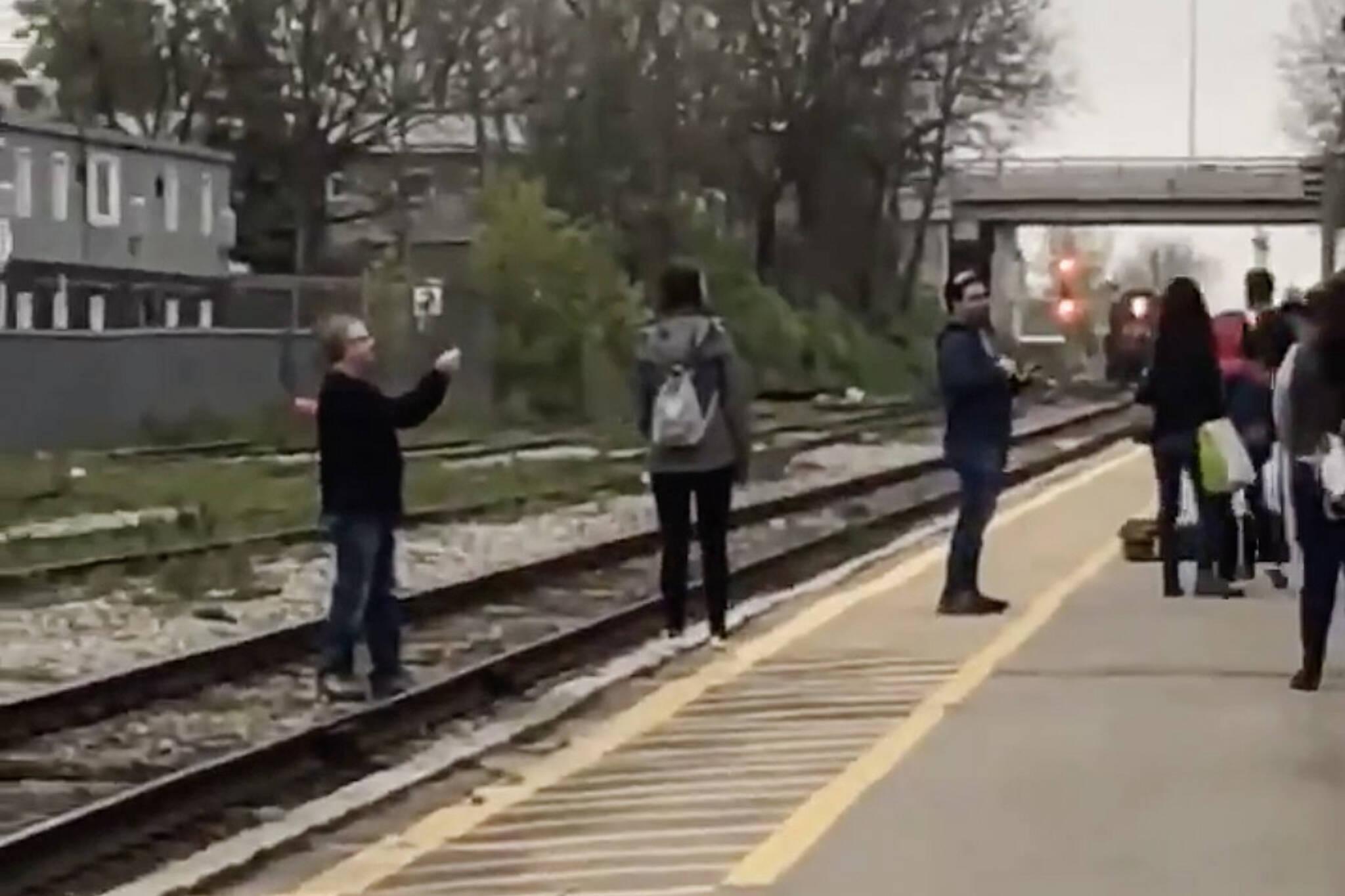 go train selfies