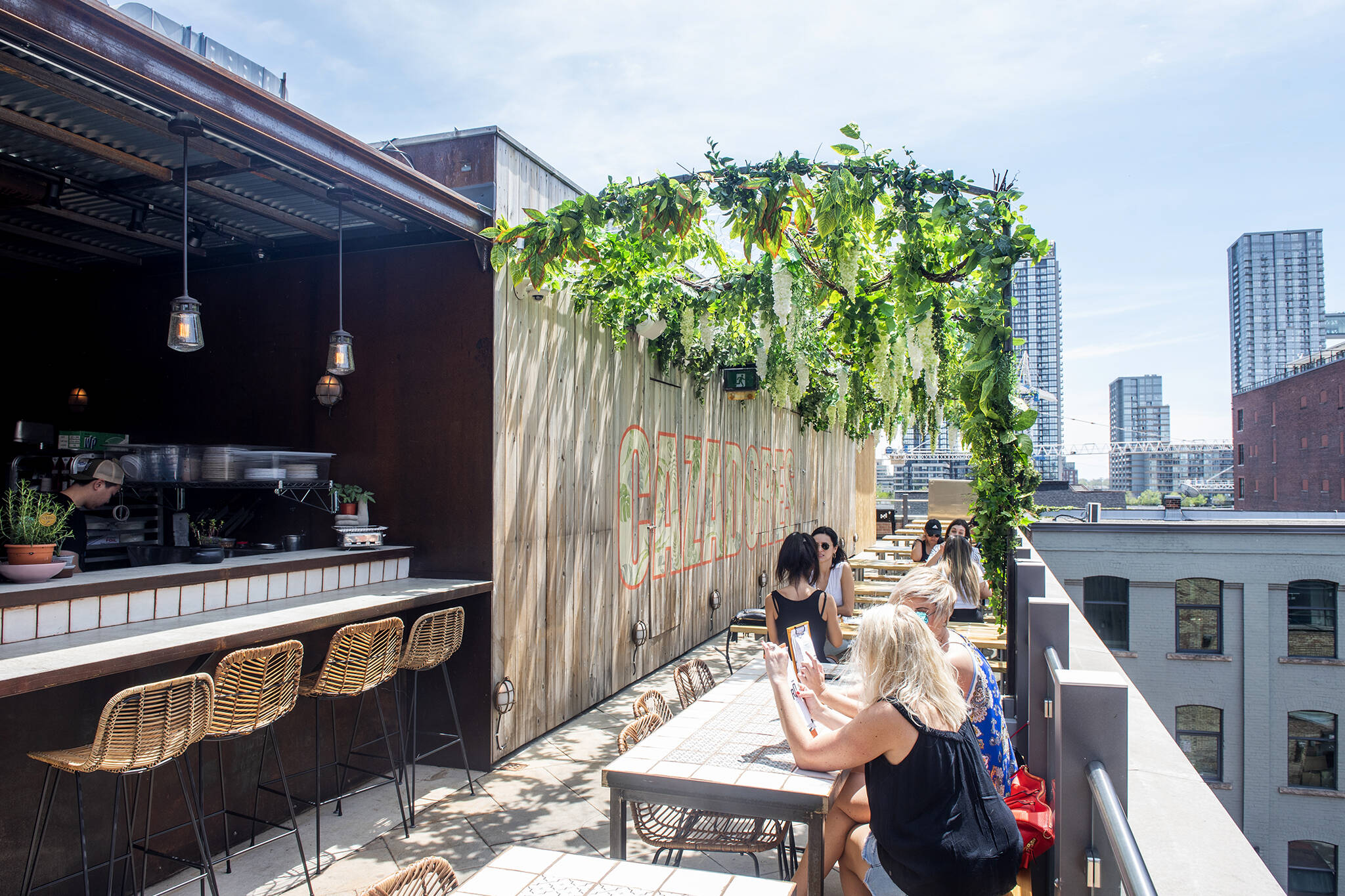 king west patios