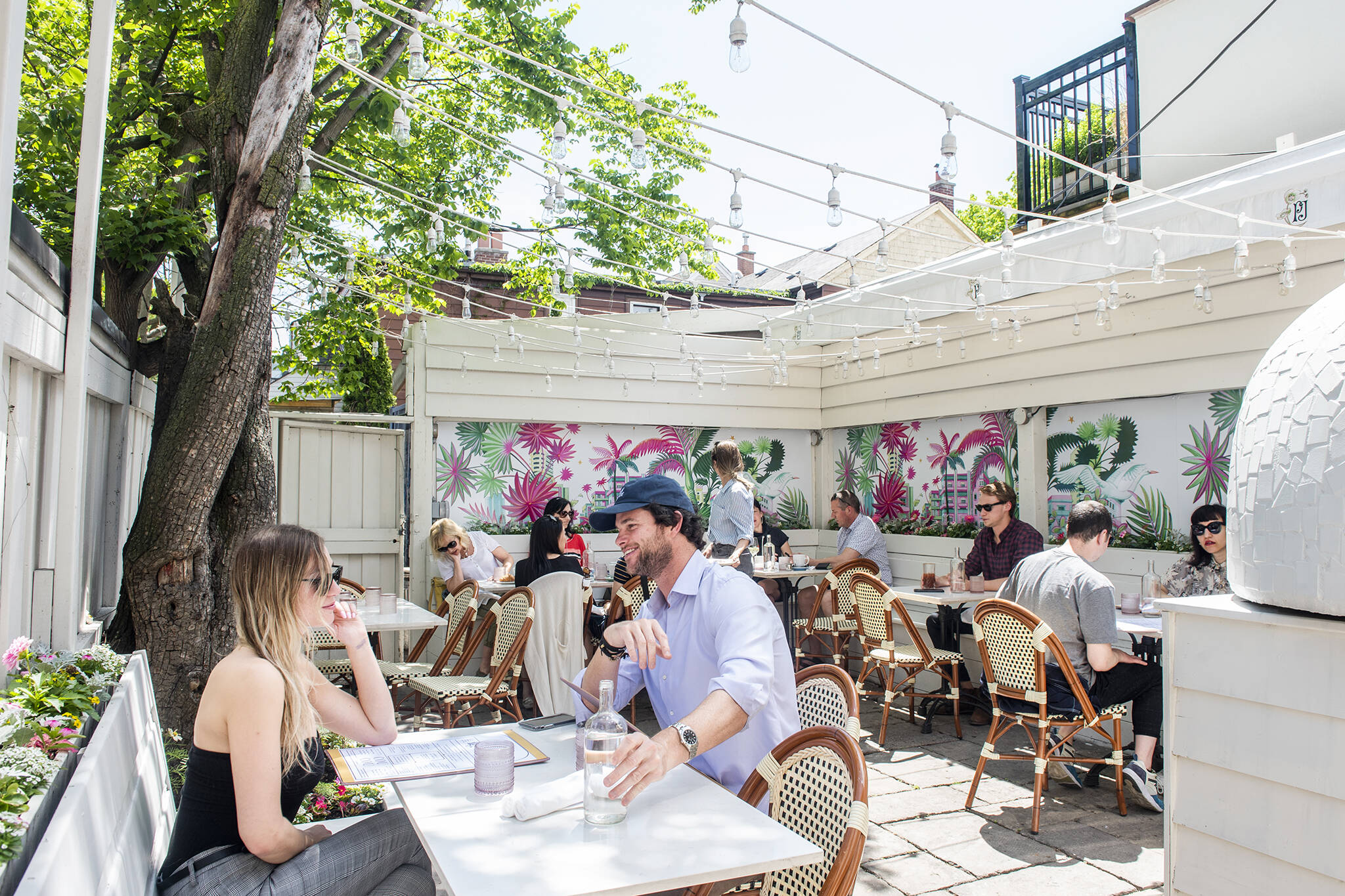 brunch patios toronto