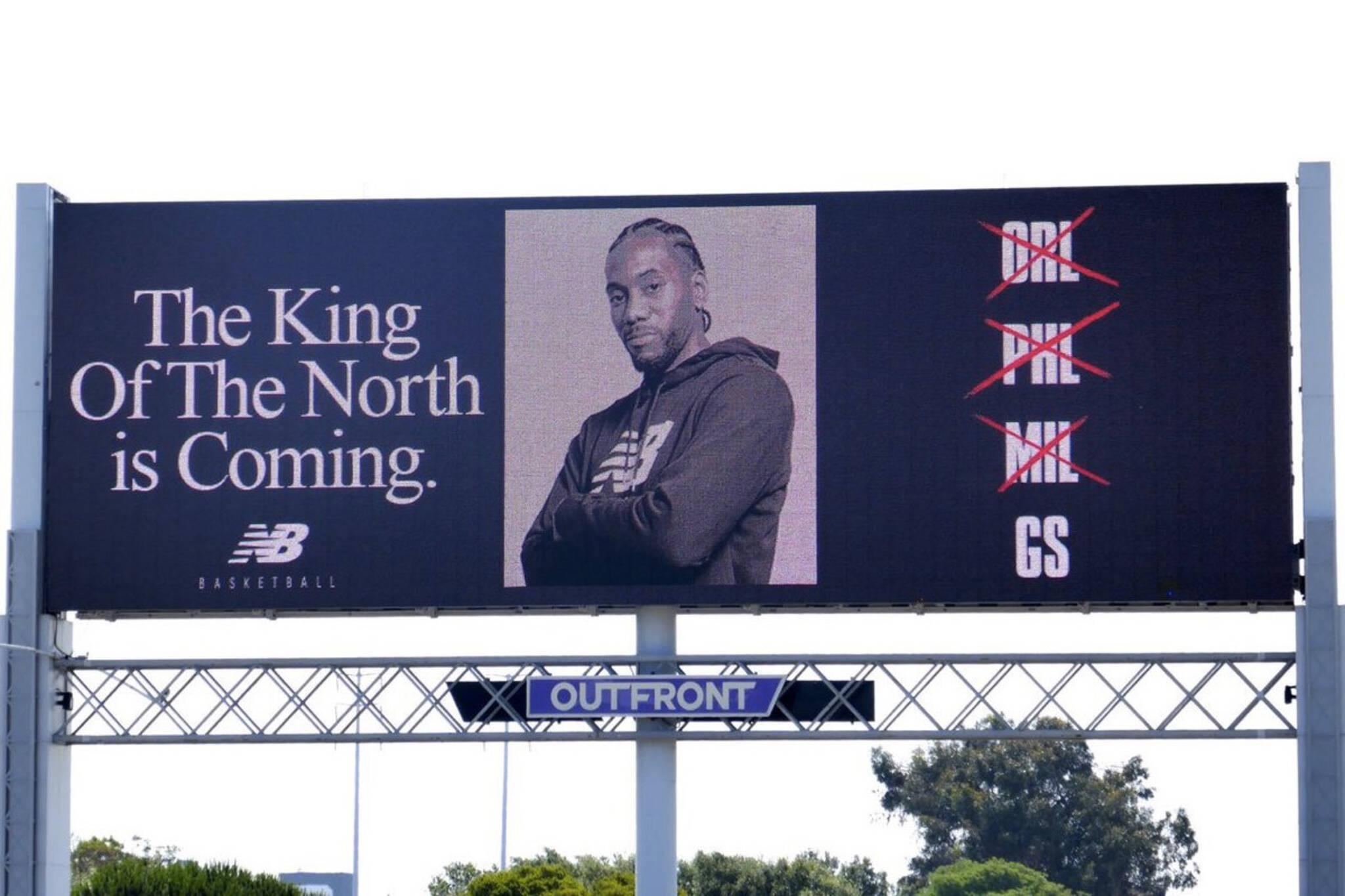 kawhi leonard billboard