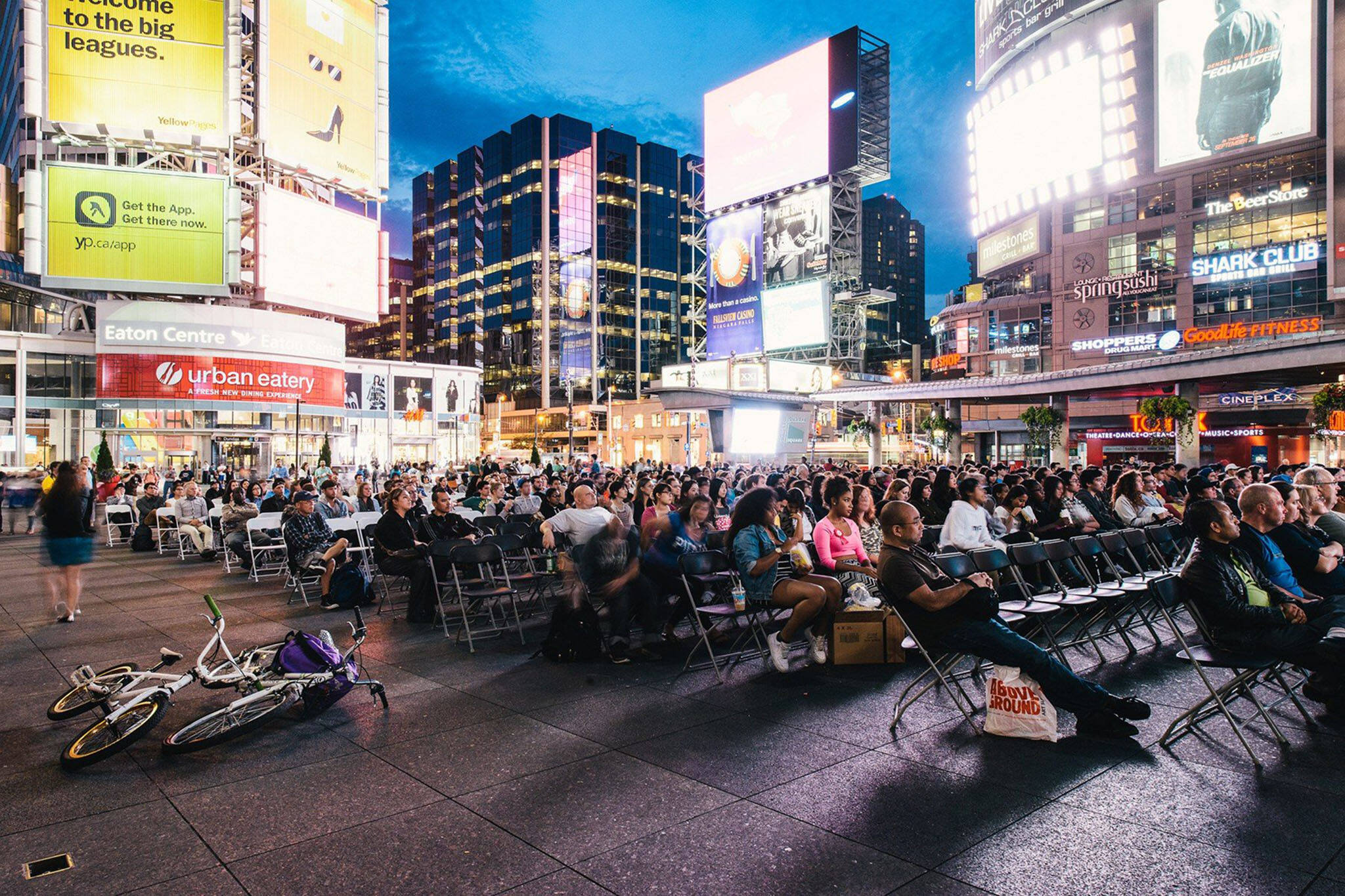 Dundas Square movies