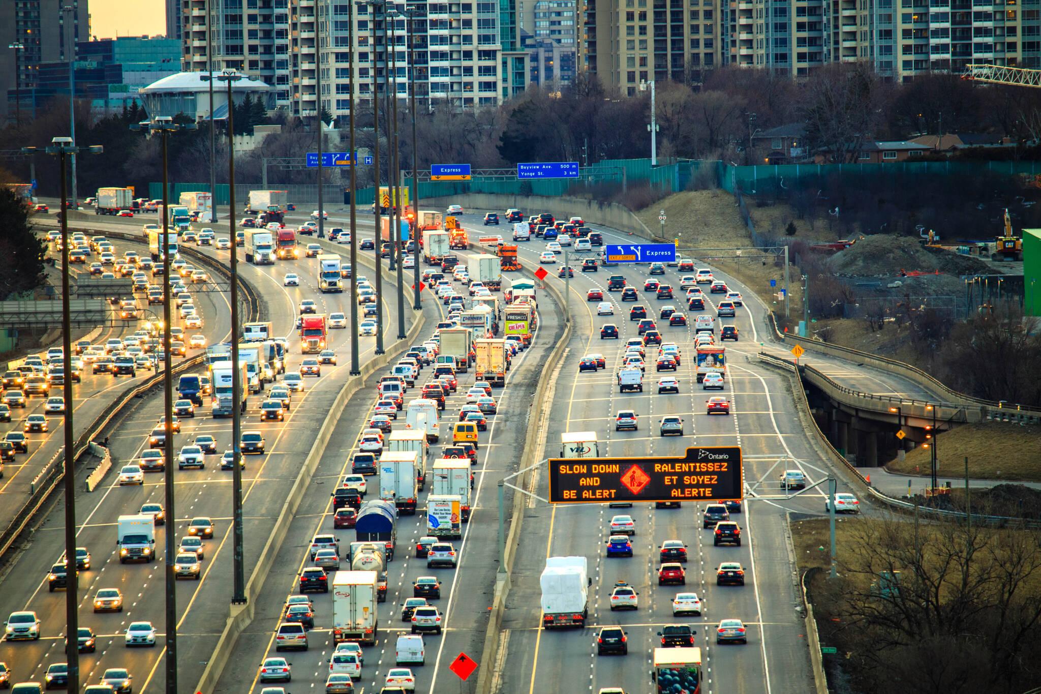new Toronto highway