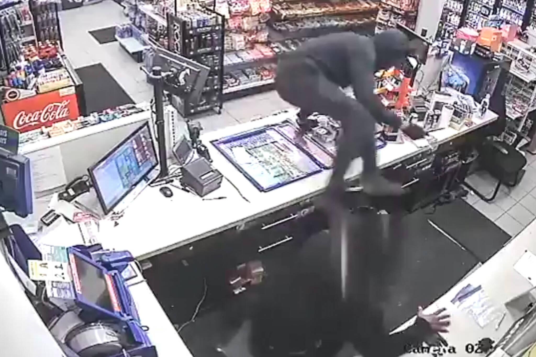 toronto robbery video