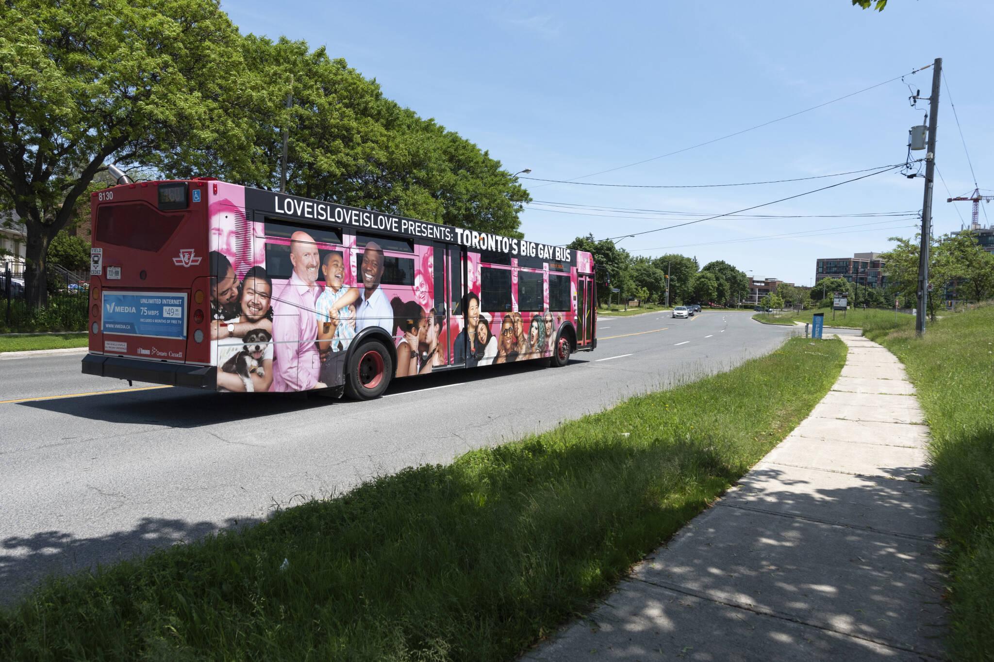 Big Gay Bus Toronto