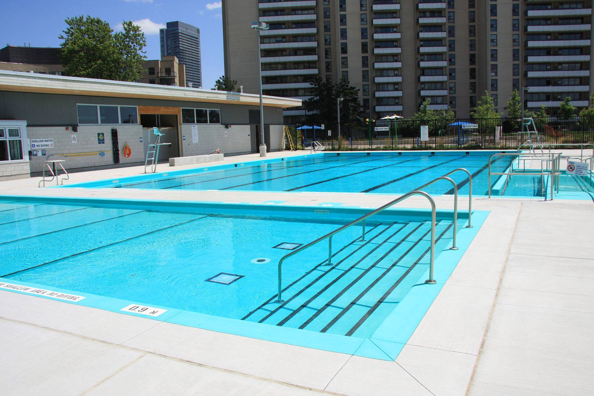outdoor pools toronto