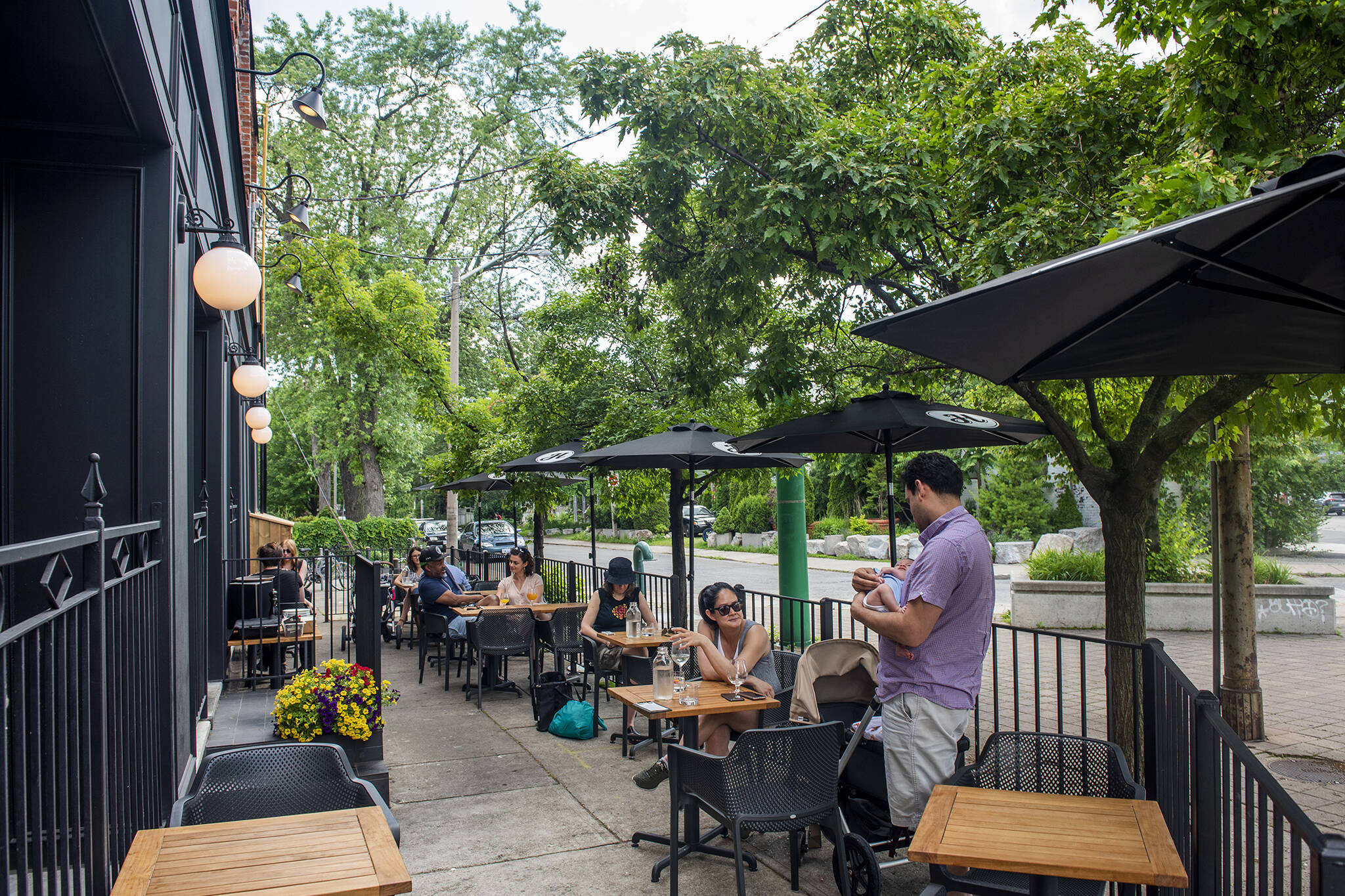 patios open in toronto