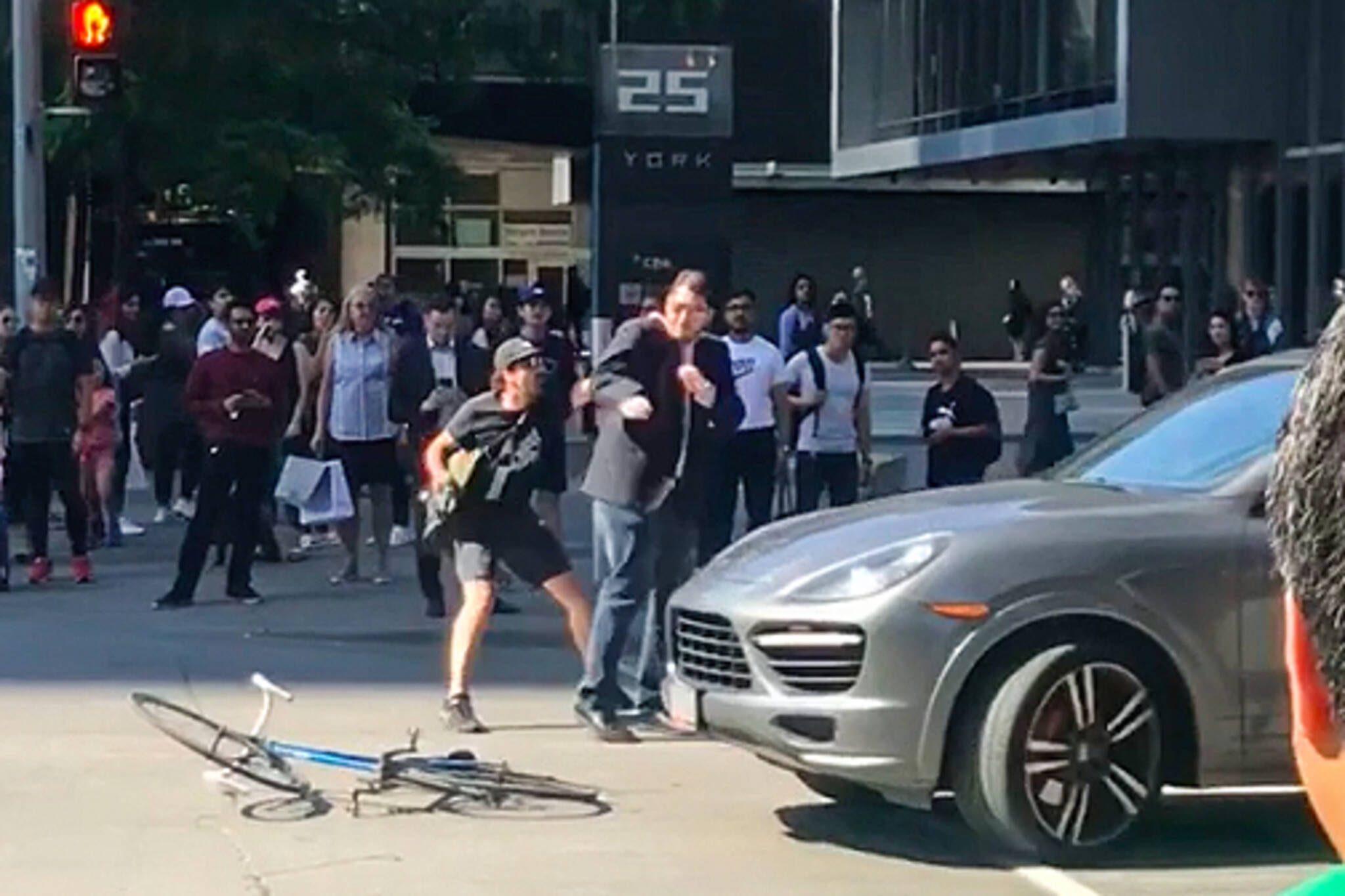toronto fight video