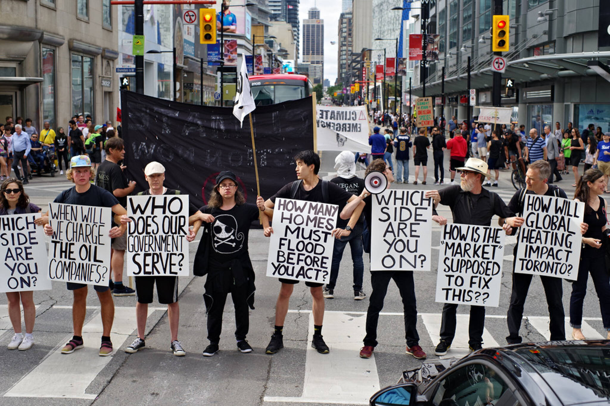 Exctinction Rebellion Toronto