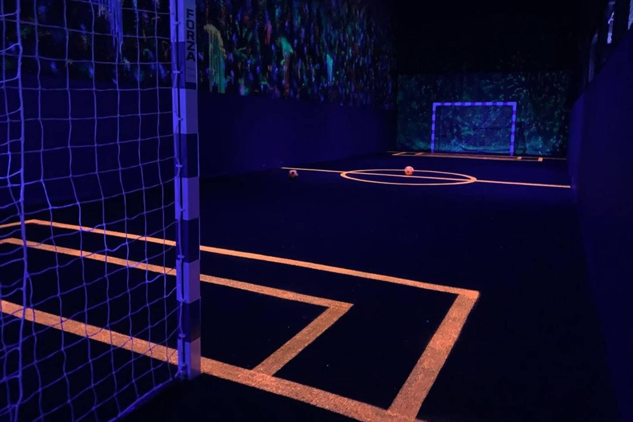 glow in the dark soccer toronto