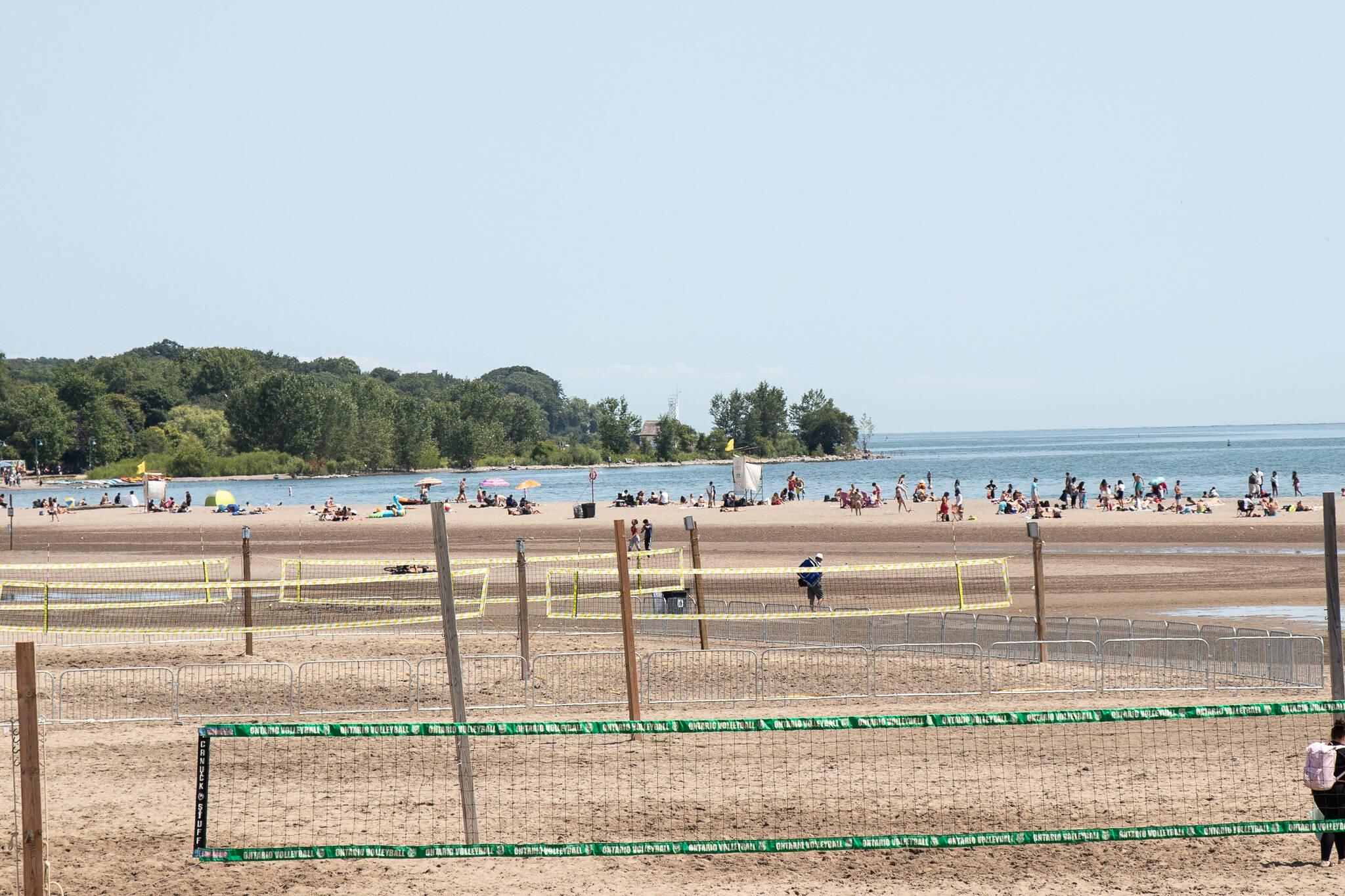 toronto beaches open