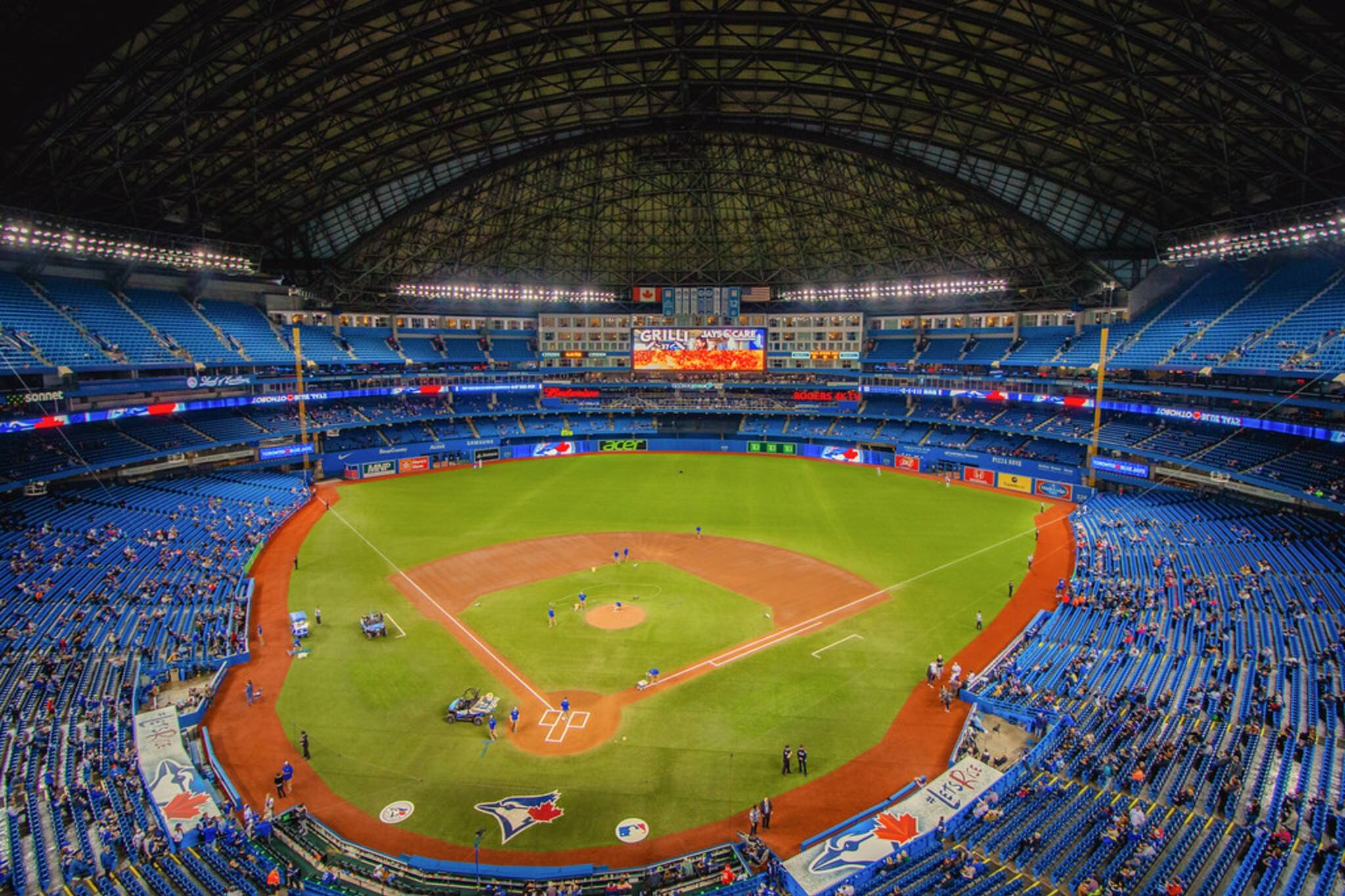 blue jays protective netting