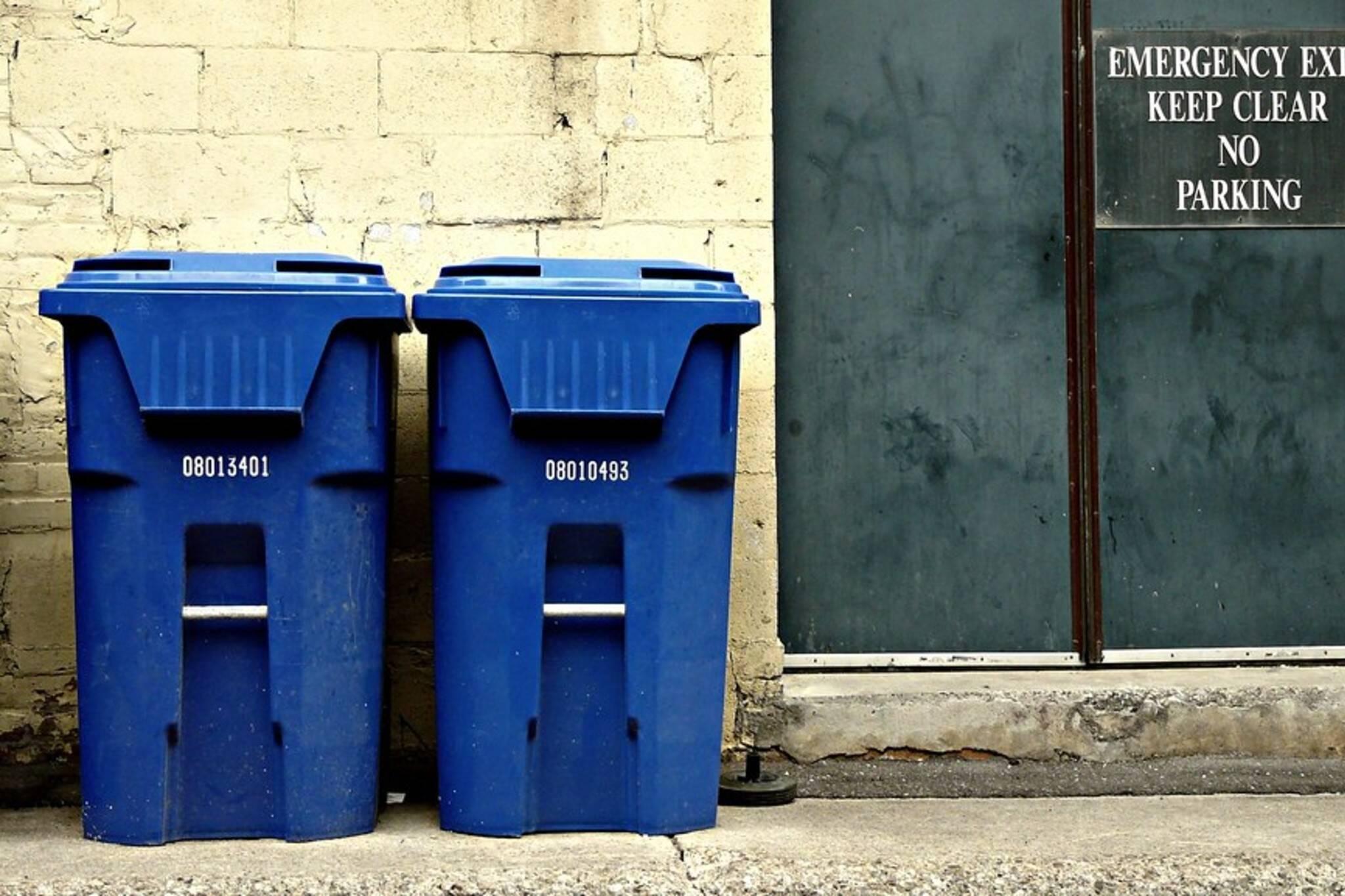 blue bin Toronto