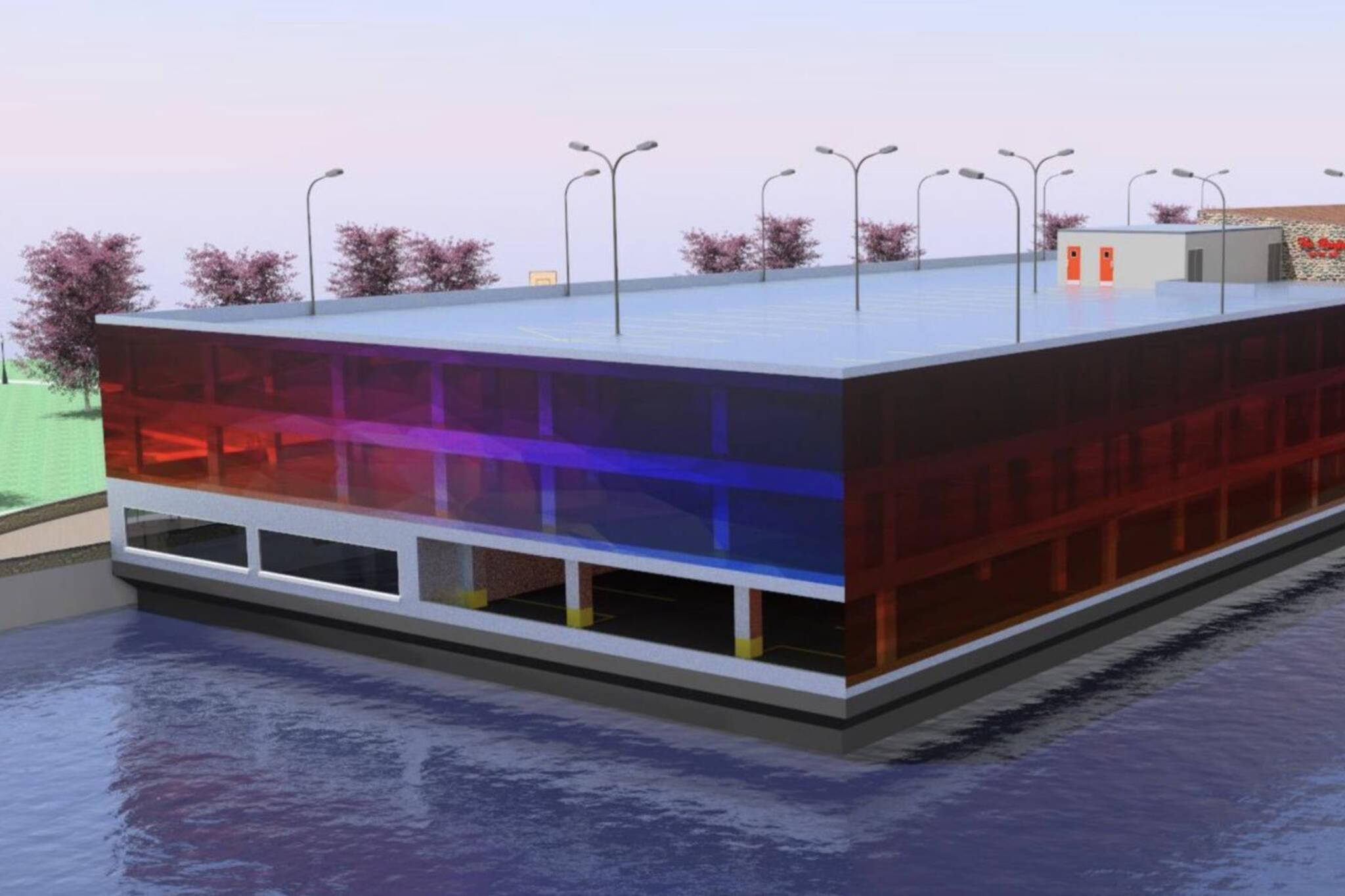 floating parking garage toronto