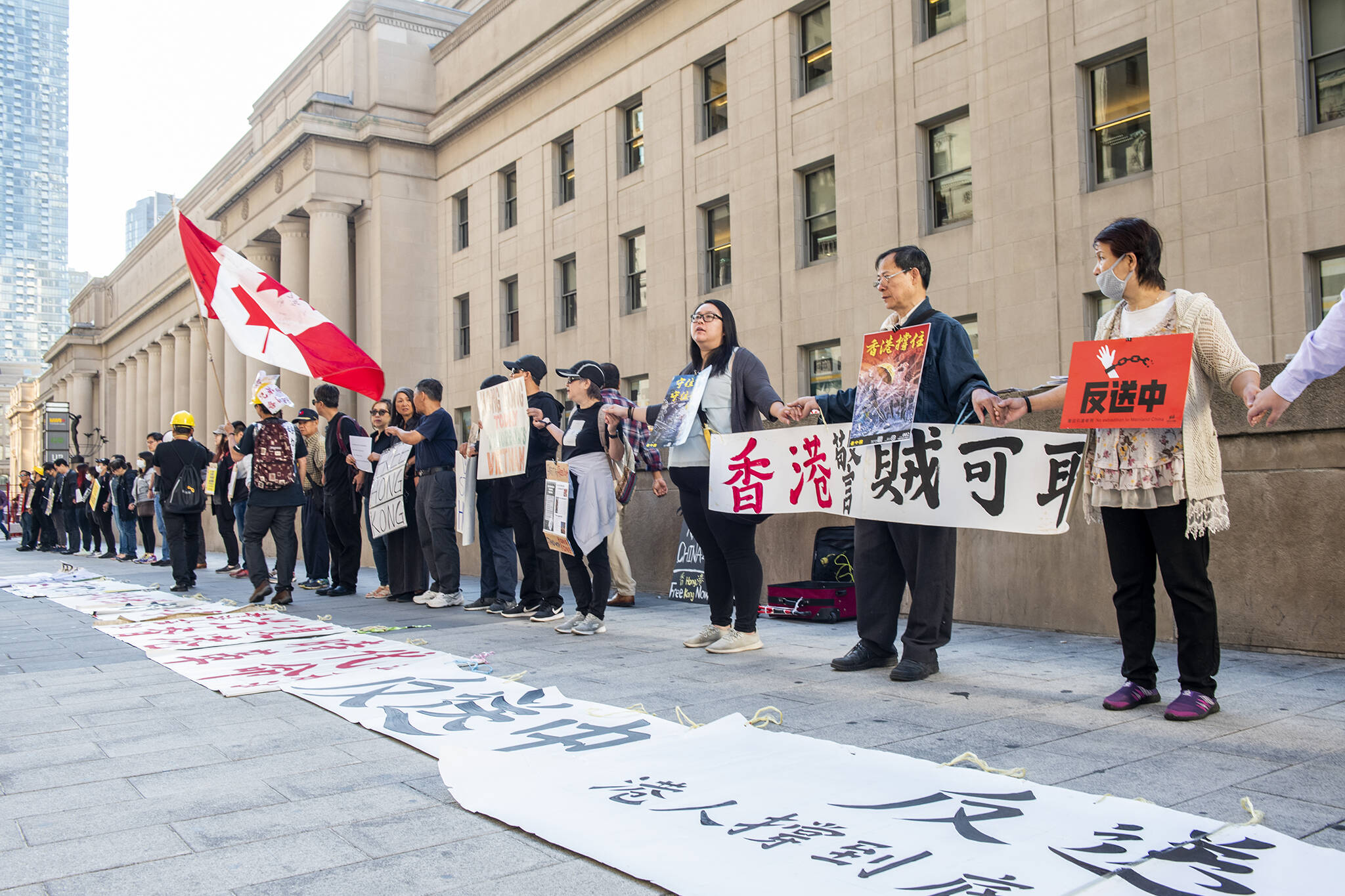 toronto hong kong protest