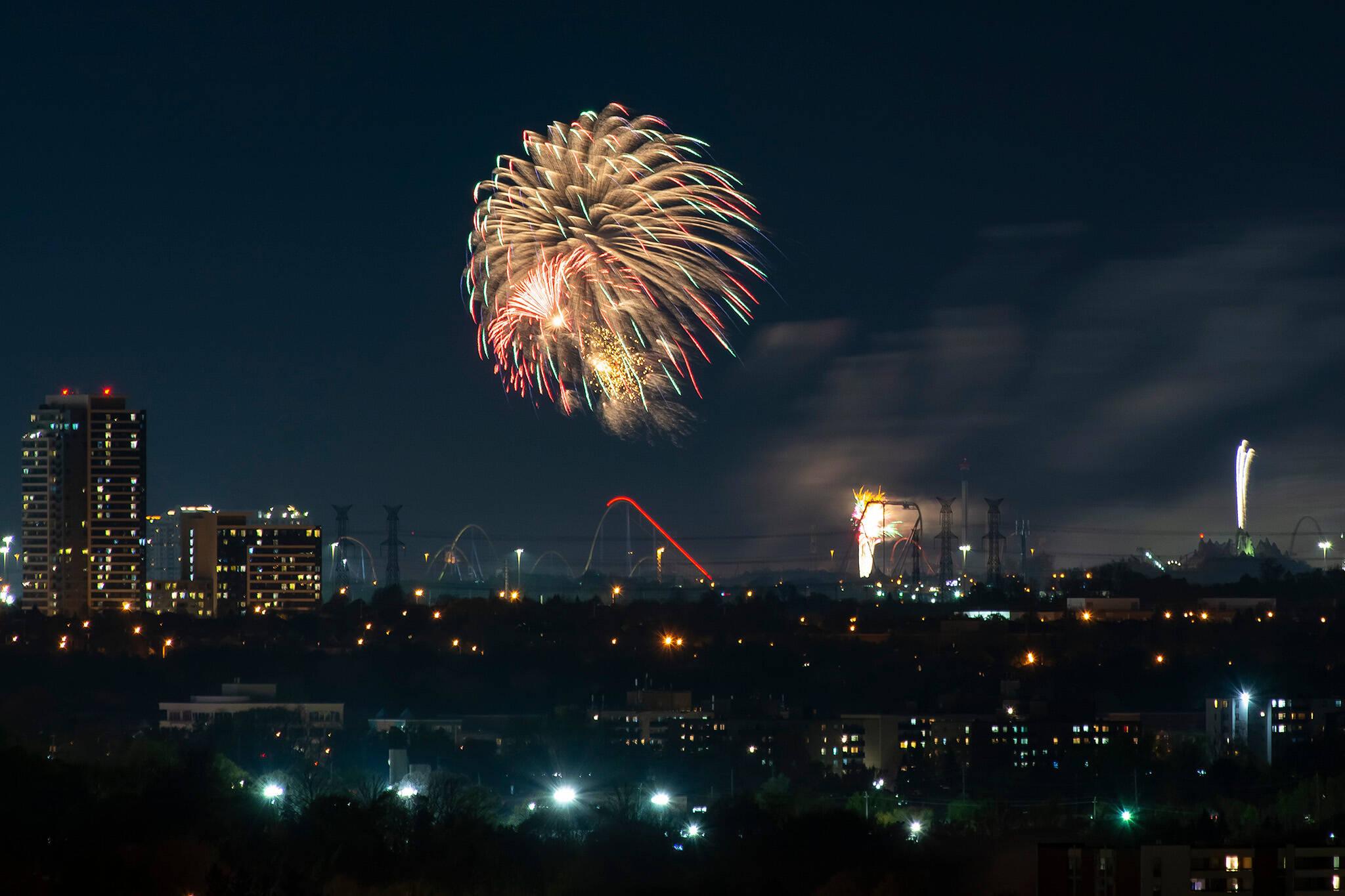 Labour Day Fireworks Toronto