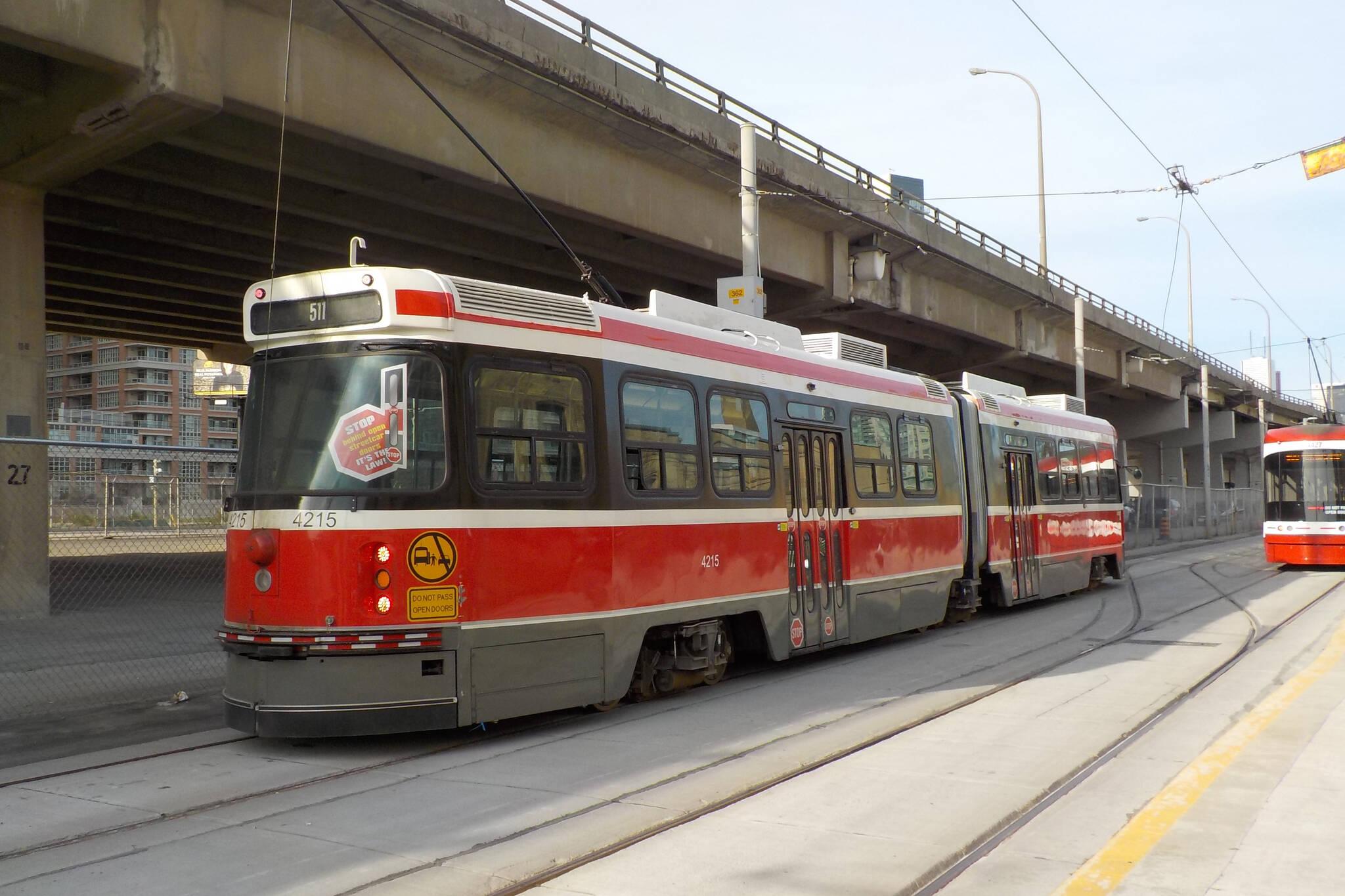 ttc streetcars retiring