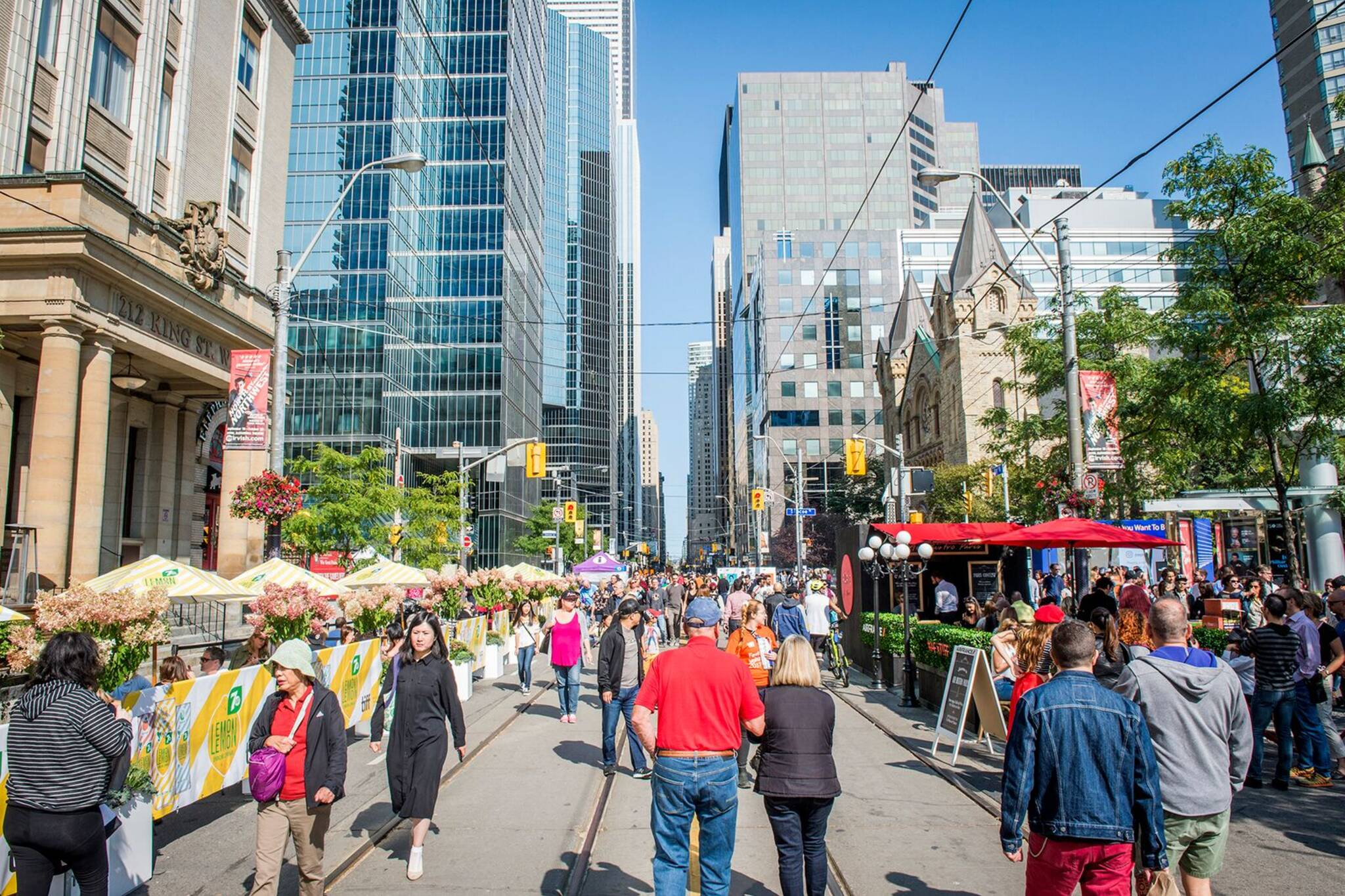 tiff road closures 2019