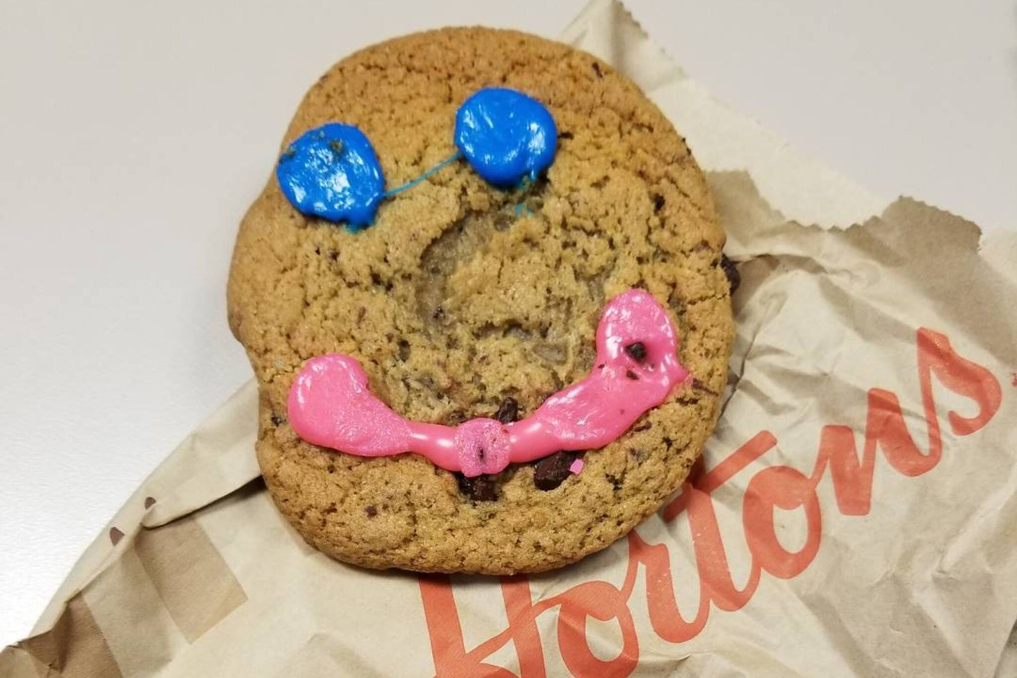 smile cookies tim hortons 2019