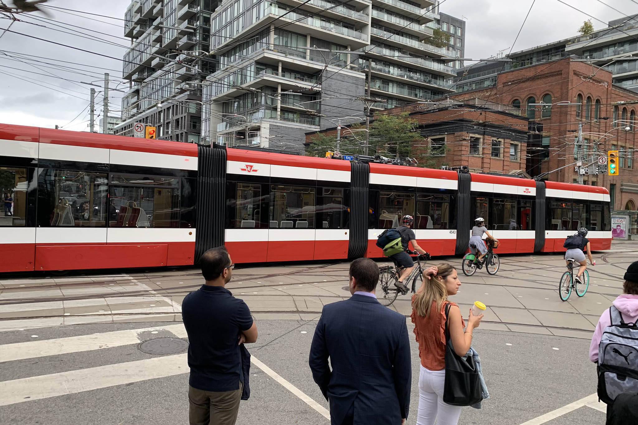 ttc streetcar delay