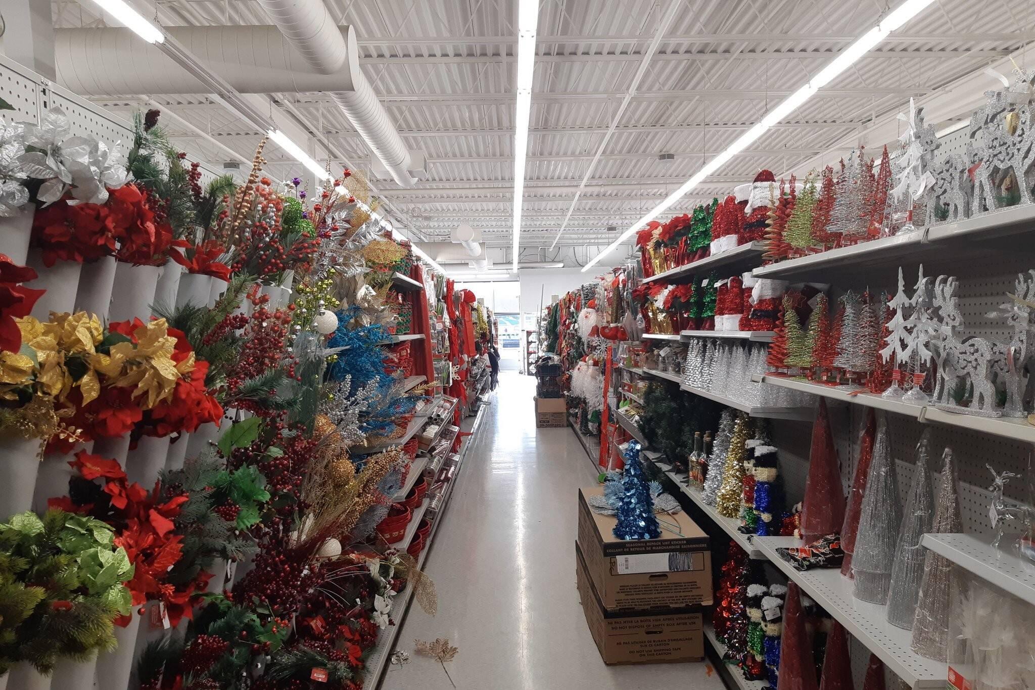 dollarama christmas decorations