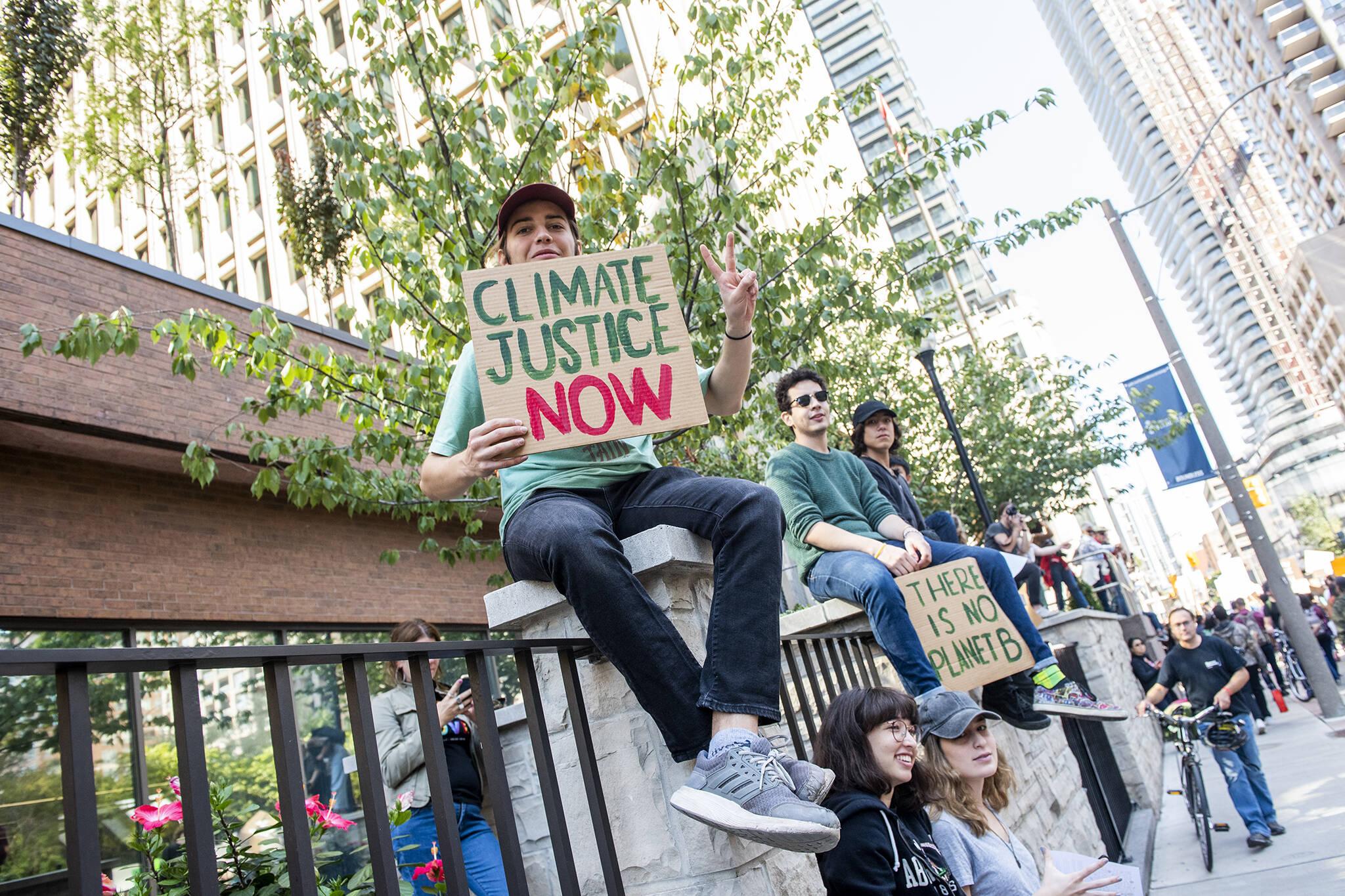 climate emergency toronto
