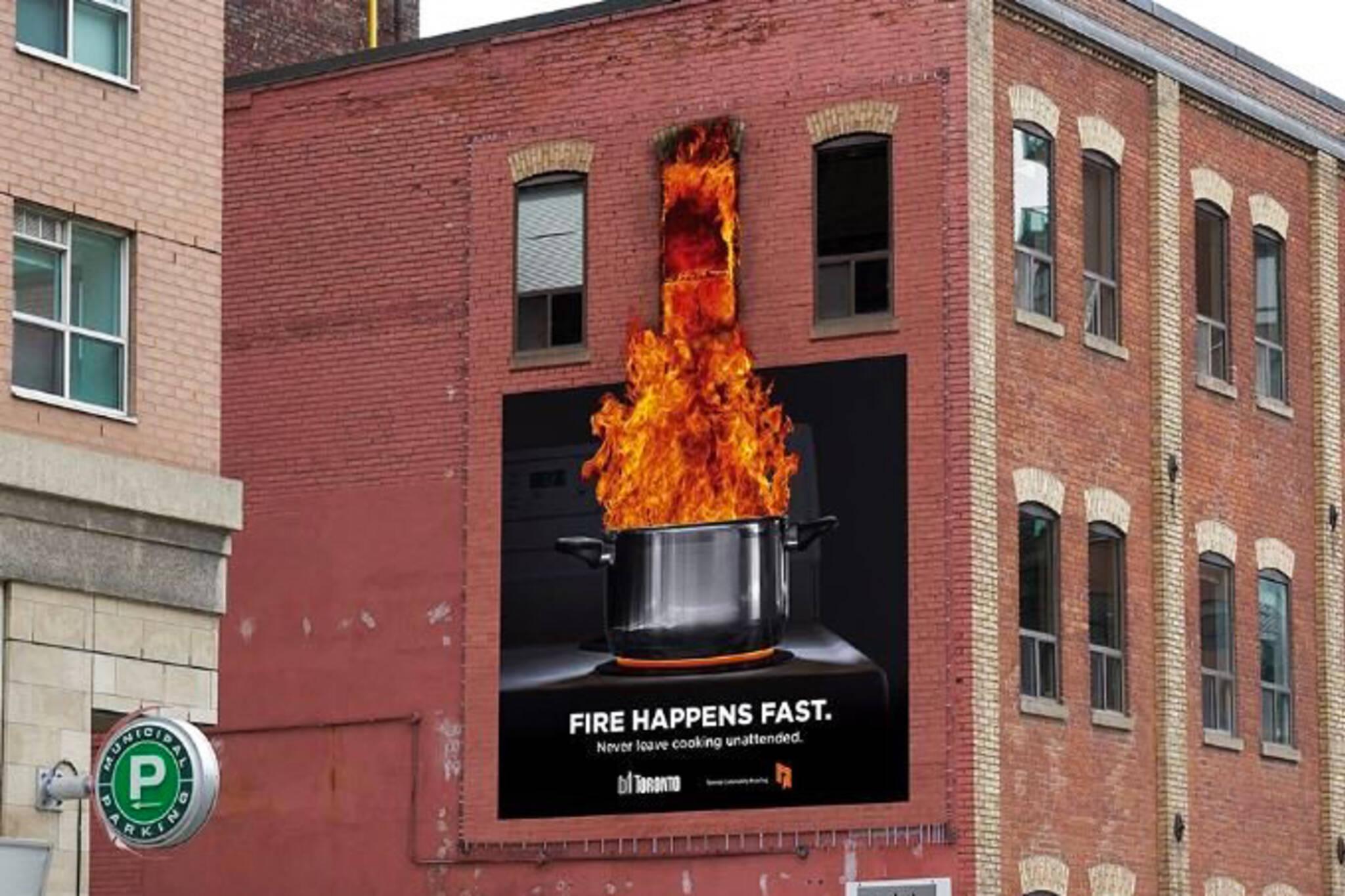 toronto fire ads