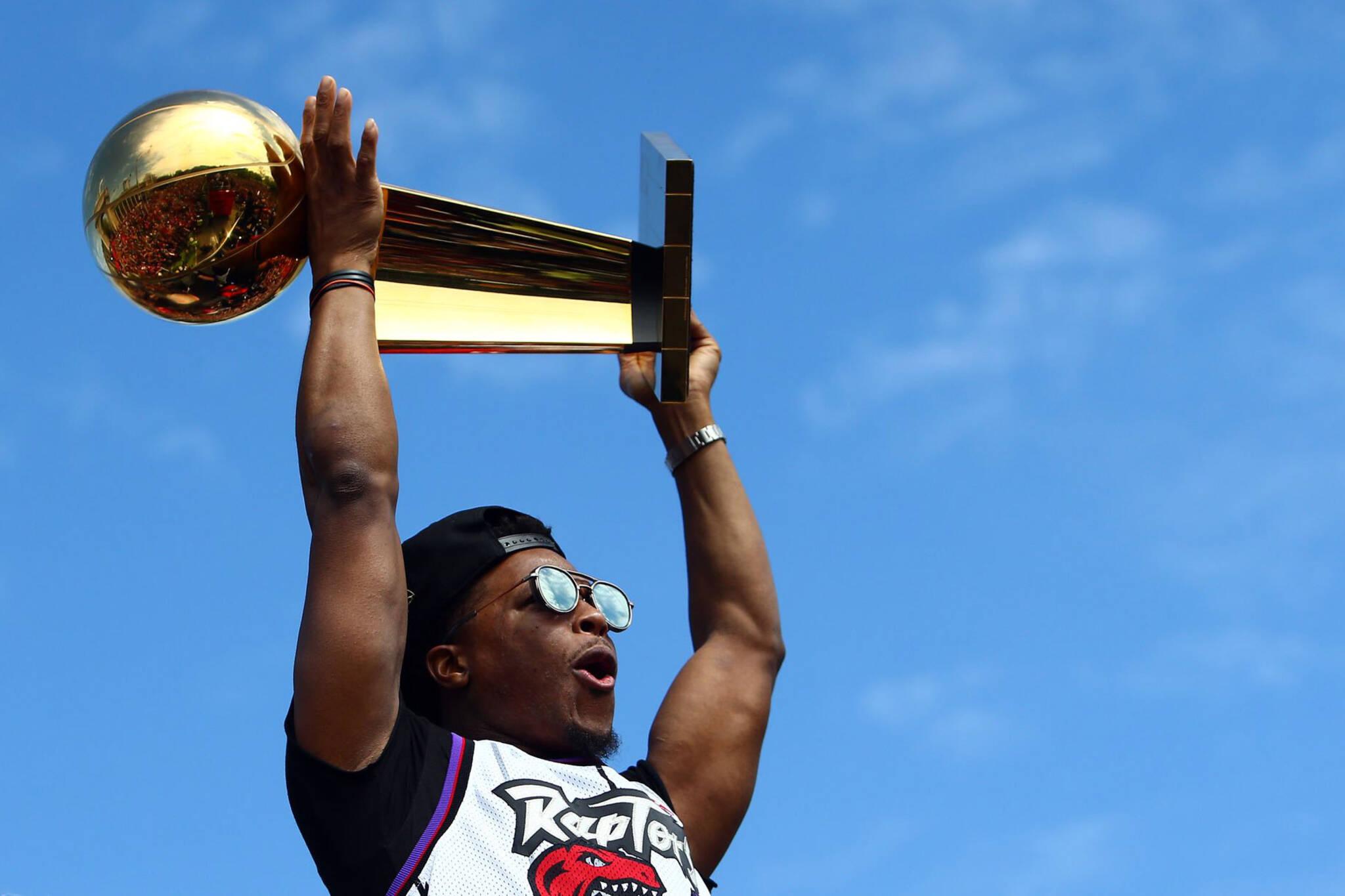 larry obrien trophy toronto