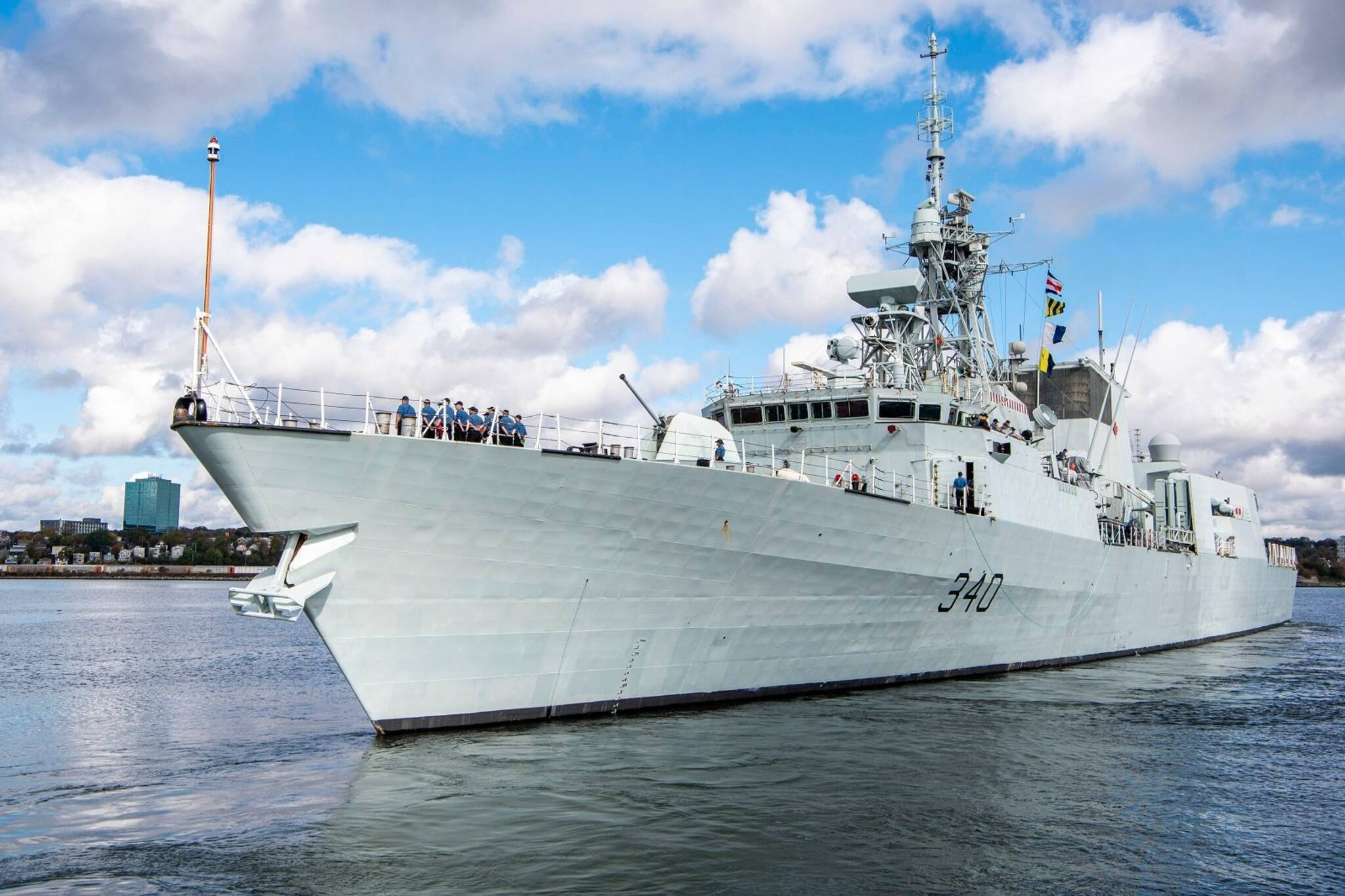 toronto navy ship tour