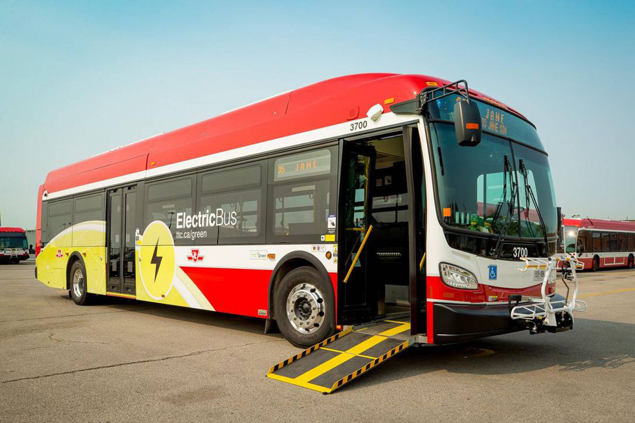 ttc electric buses