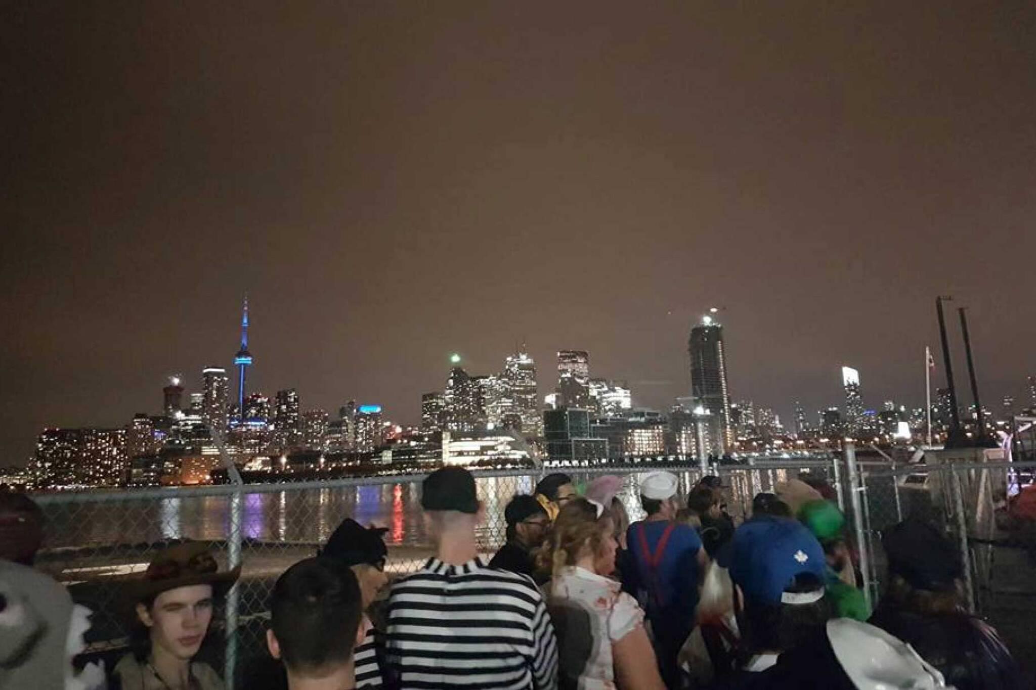 toronto halloween boat party