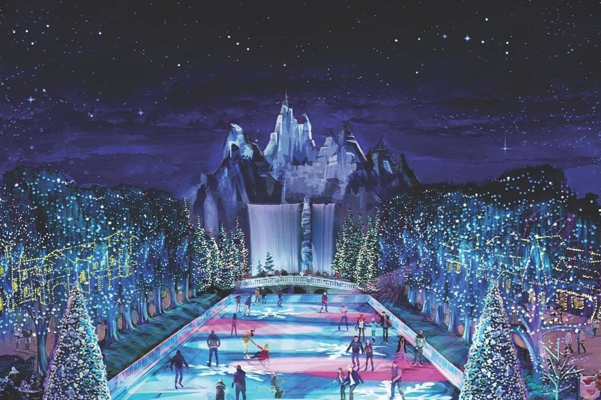canadas wonderland winterfest