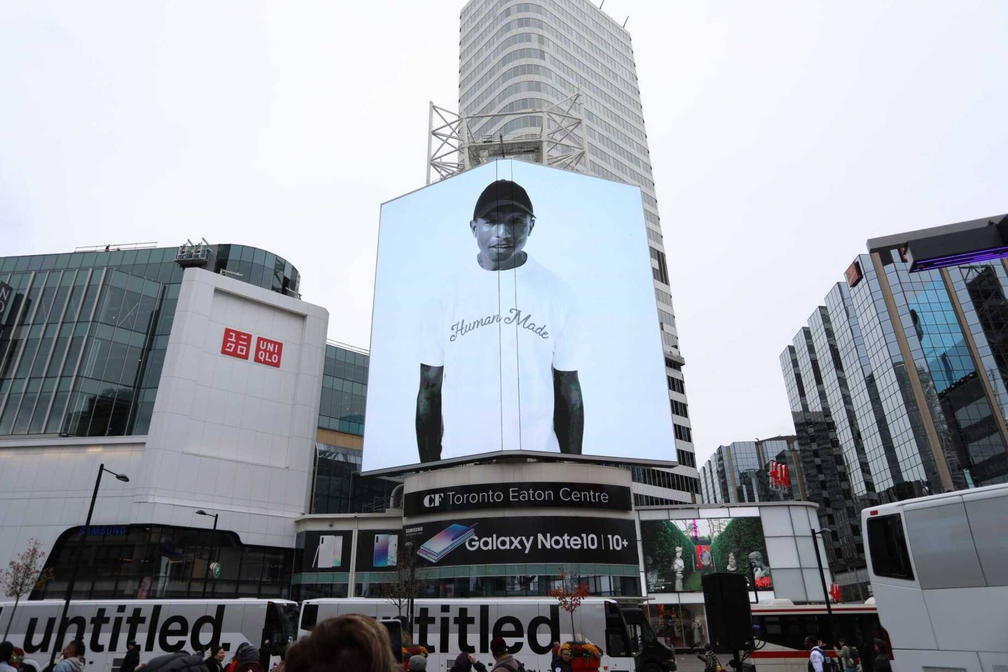 pharrell williams toronto