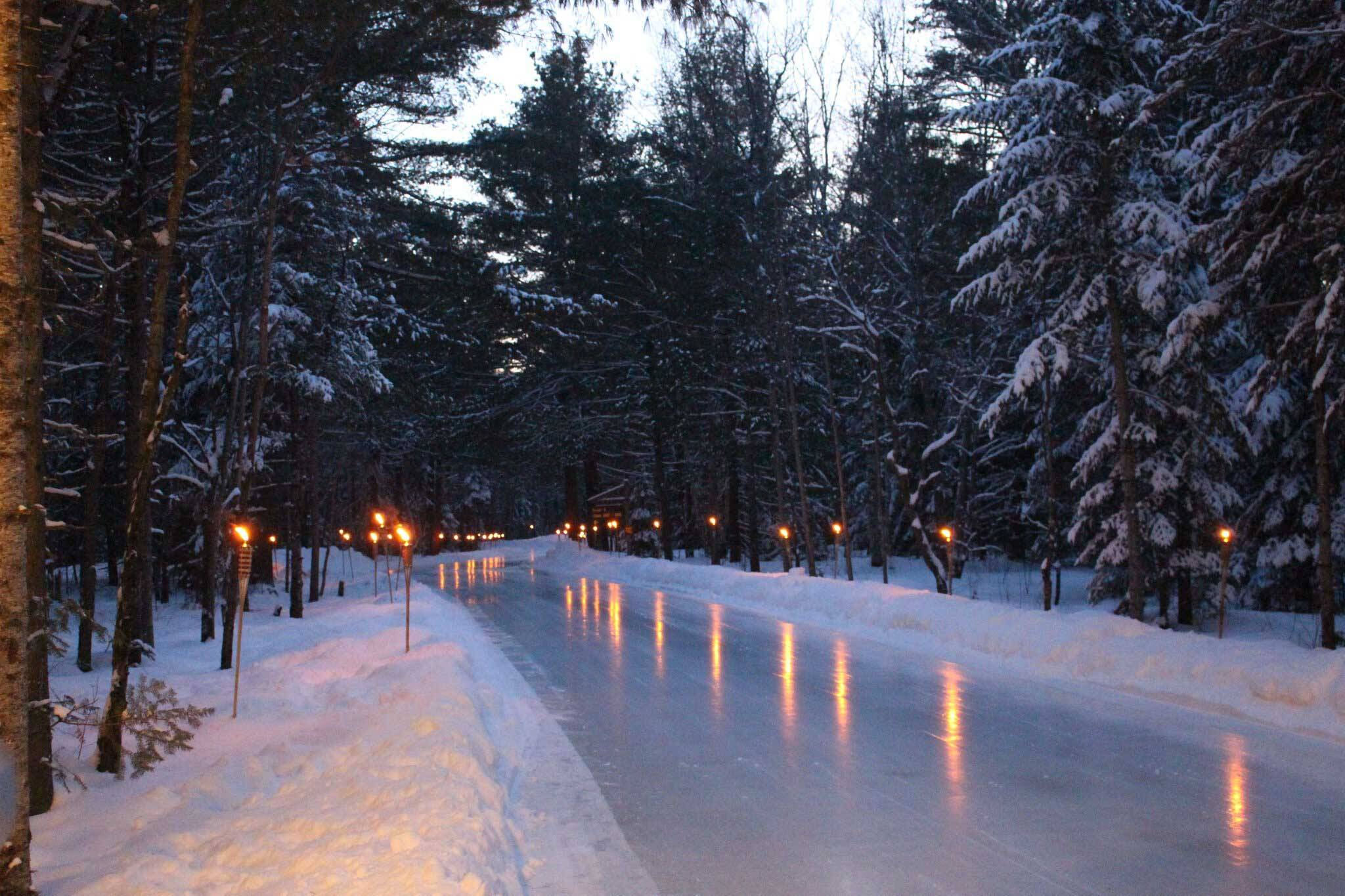 arrowhead skating trail
