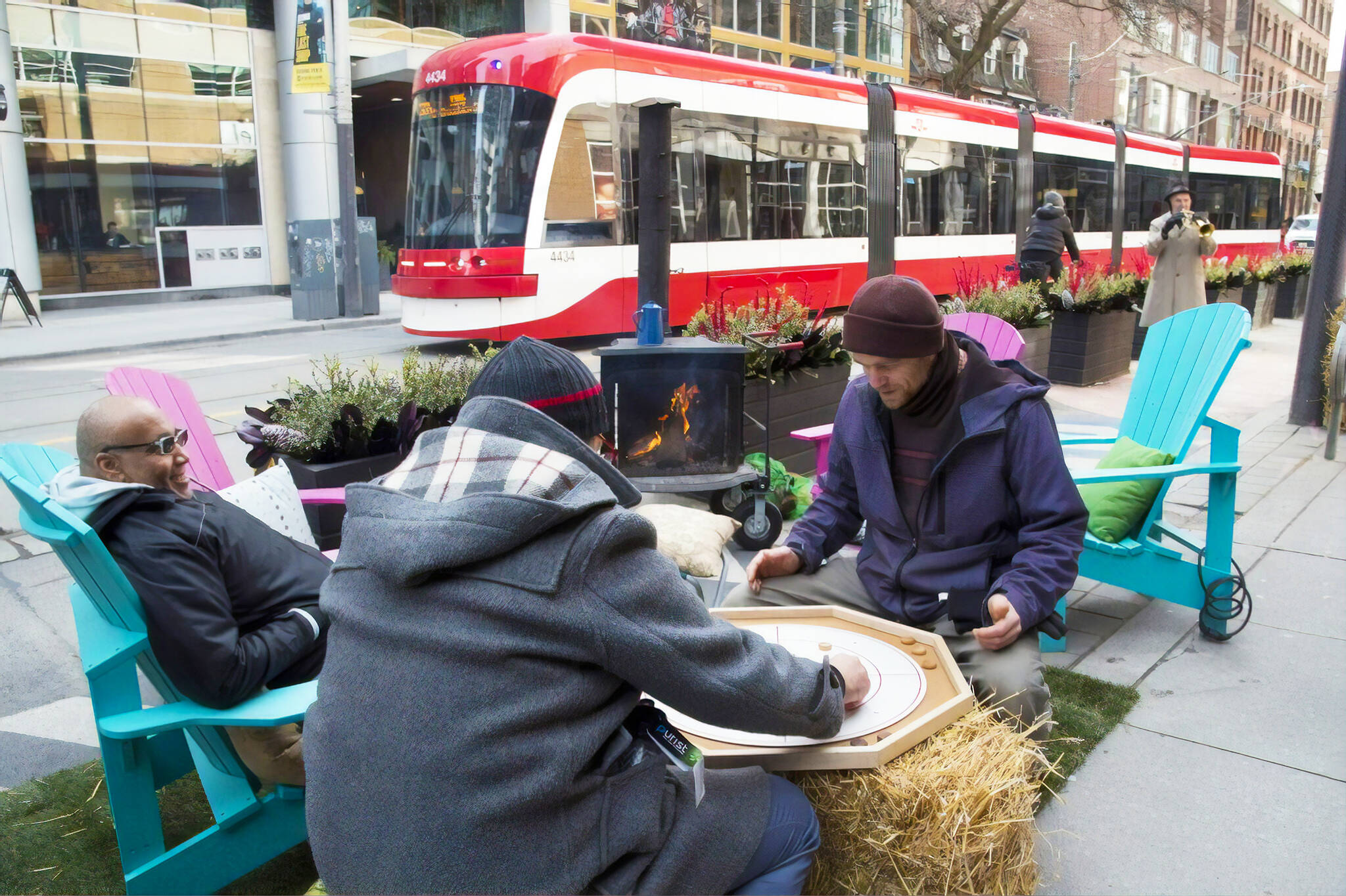 king street winter warm up
