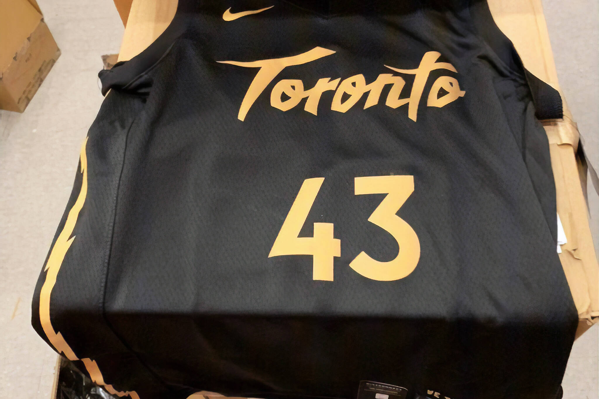 Toronto Raptors City Edition Jersey Might Have Just Been
