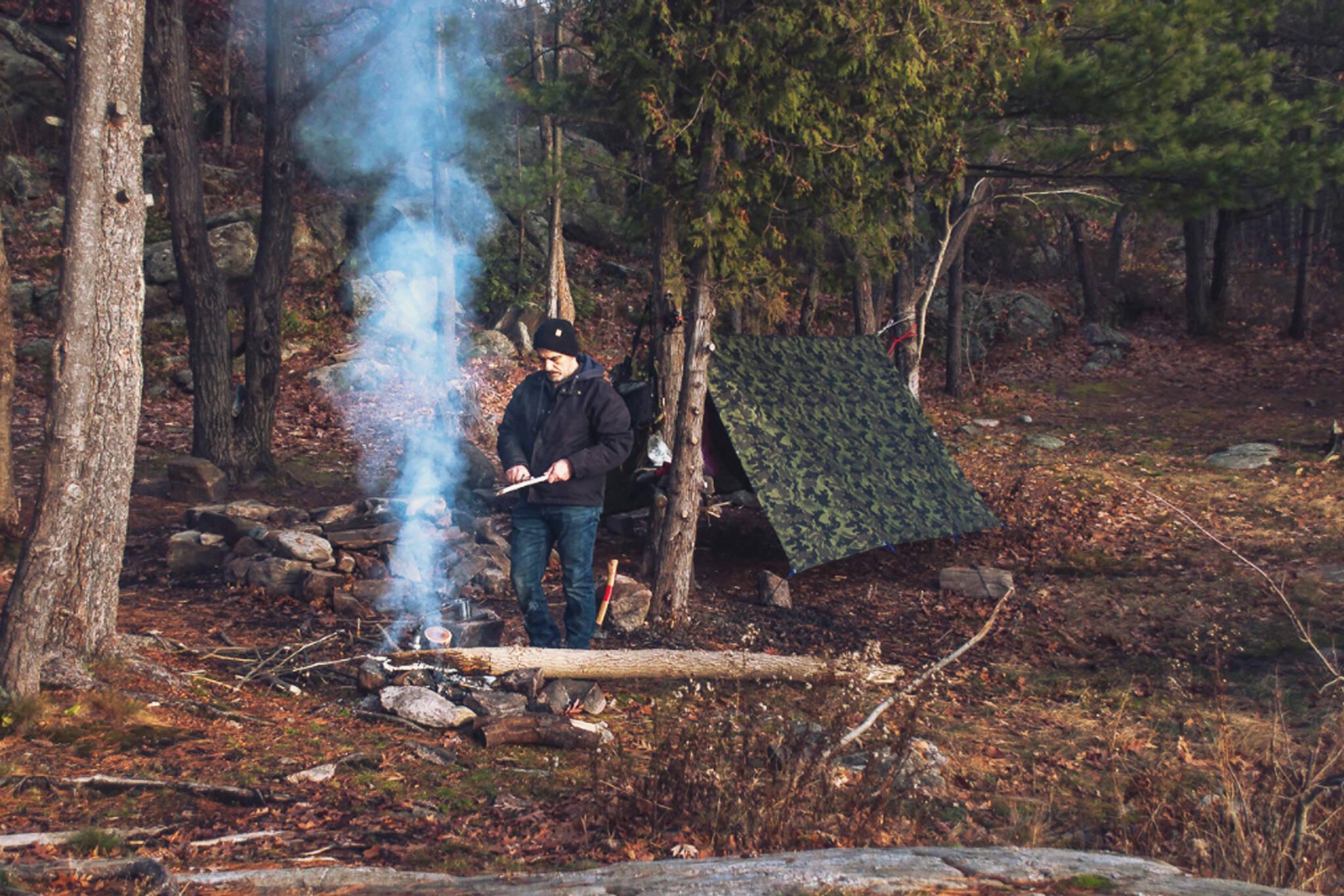 no camping on crown land ontario