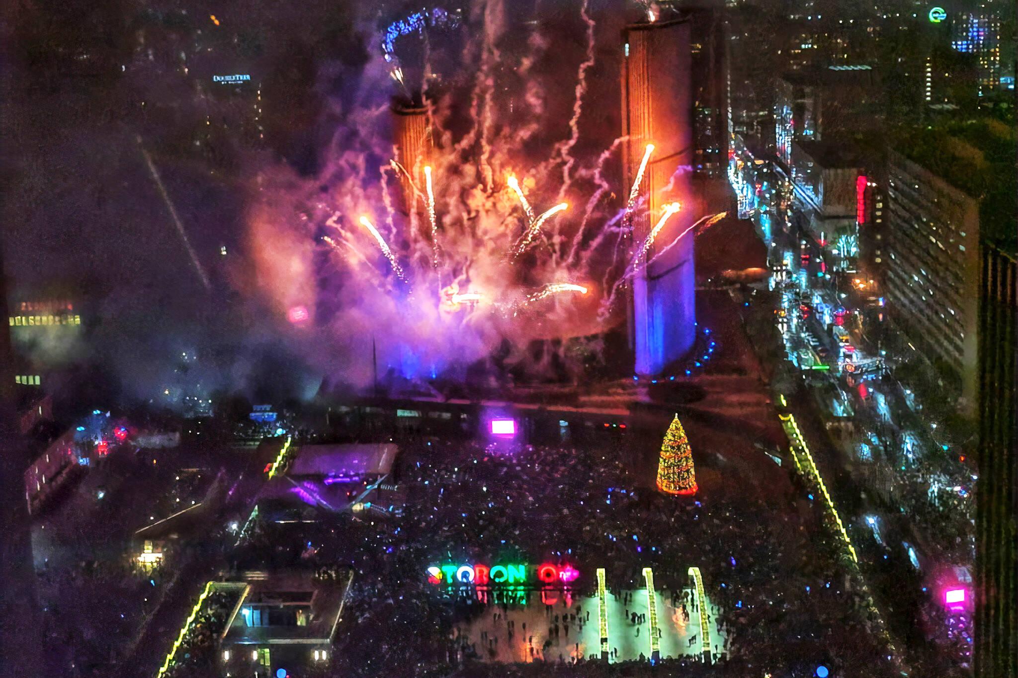 toronto new years eve 2020