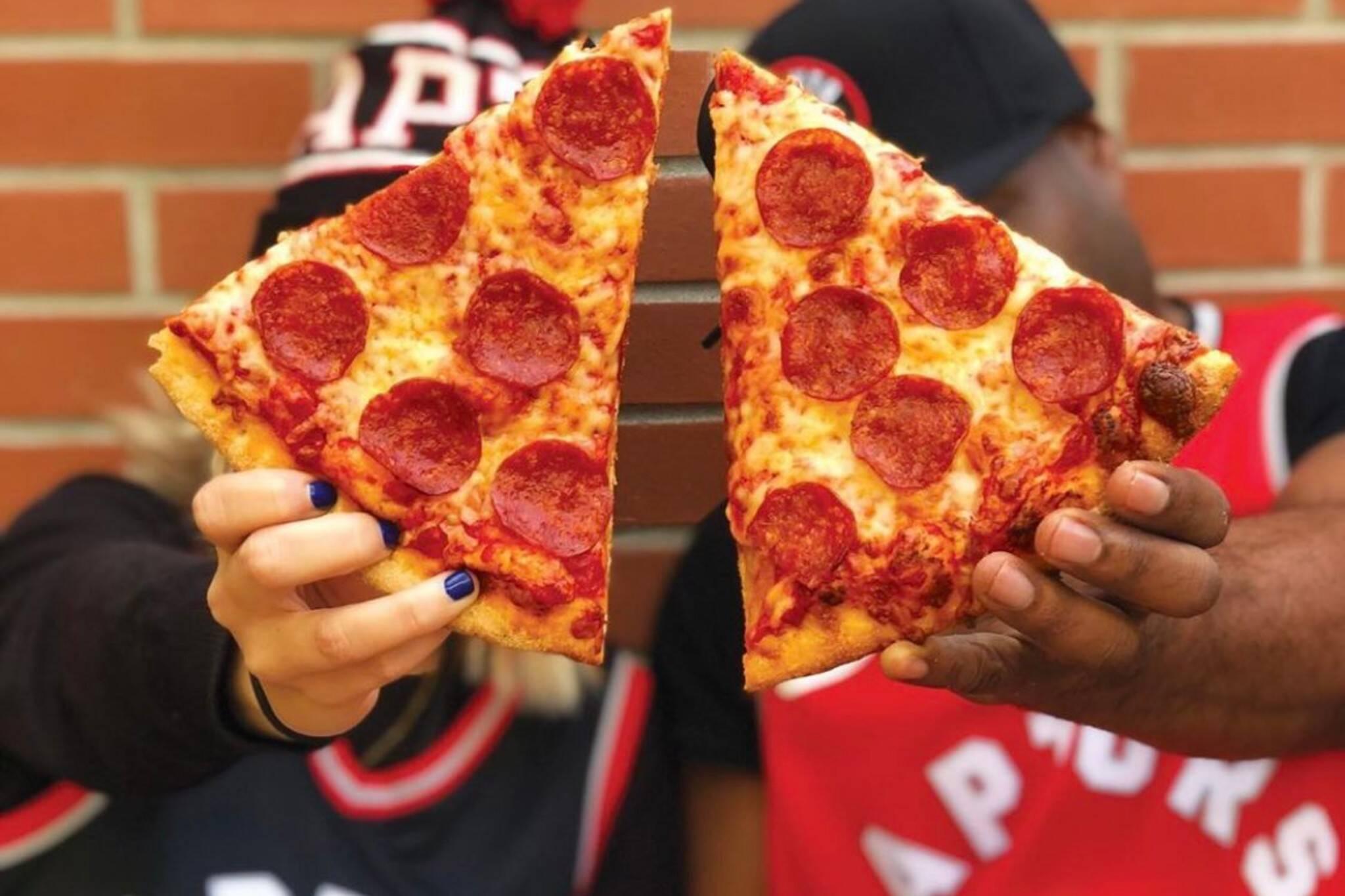 raptors pizza pizza